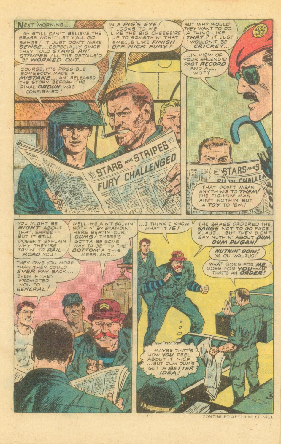 Read online Sgt. Fury comic -  Issue #155 - 13