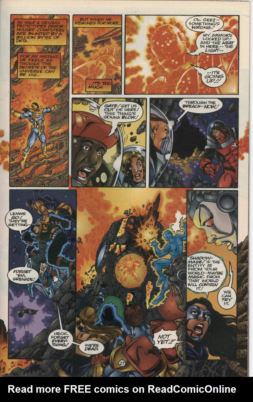 Read online Break-Thru comic -  Issue #2 - 28