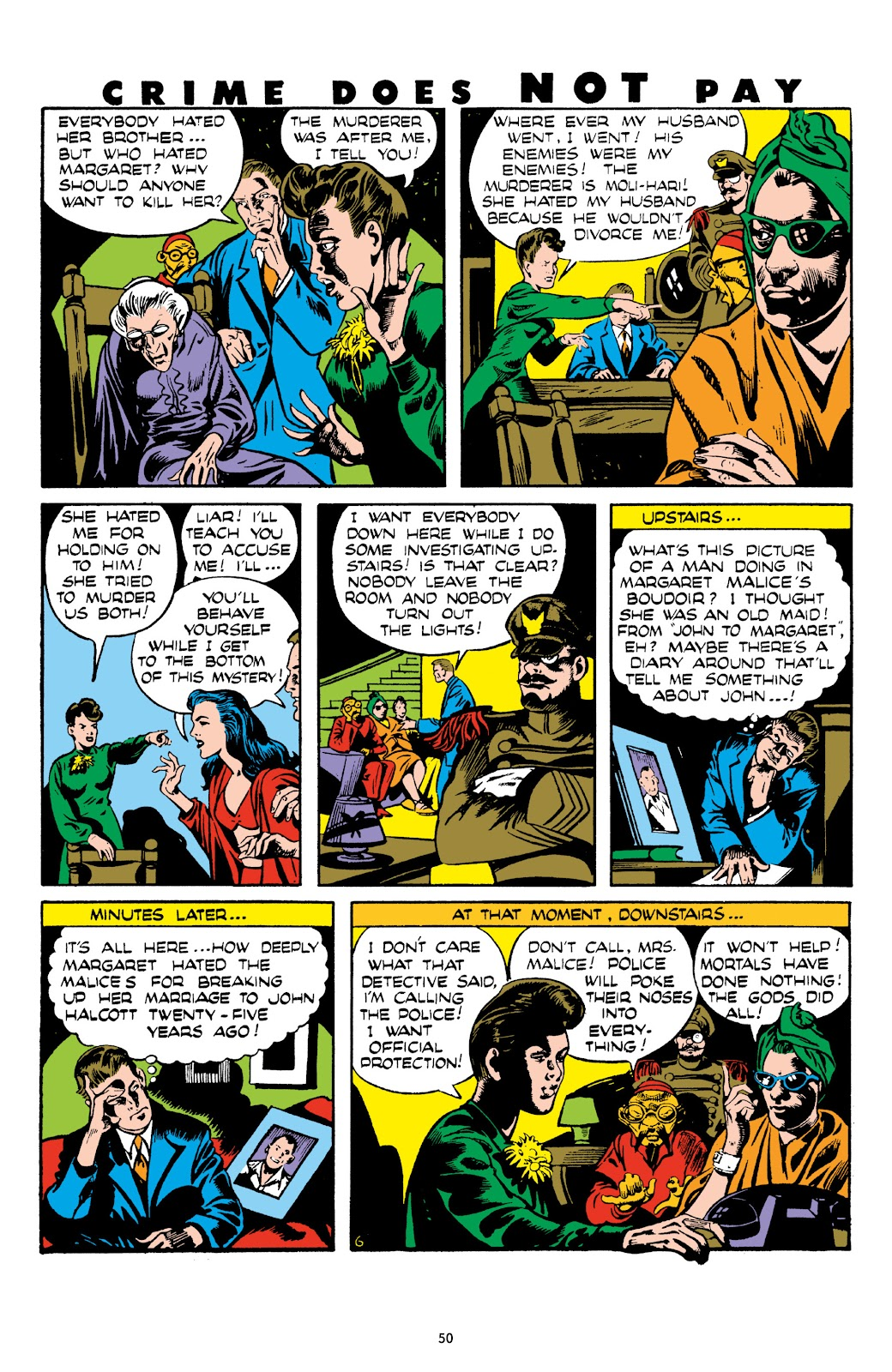 Read online Crime Does Not Pay Archives comic -  Issue # TPB 8 (Part 1) - 51