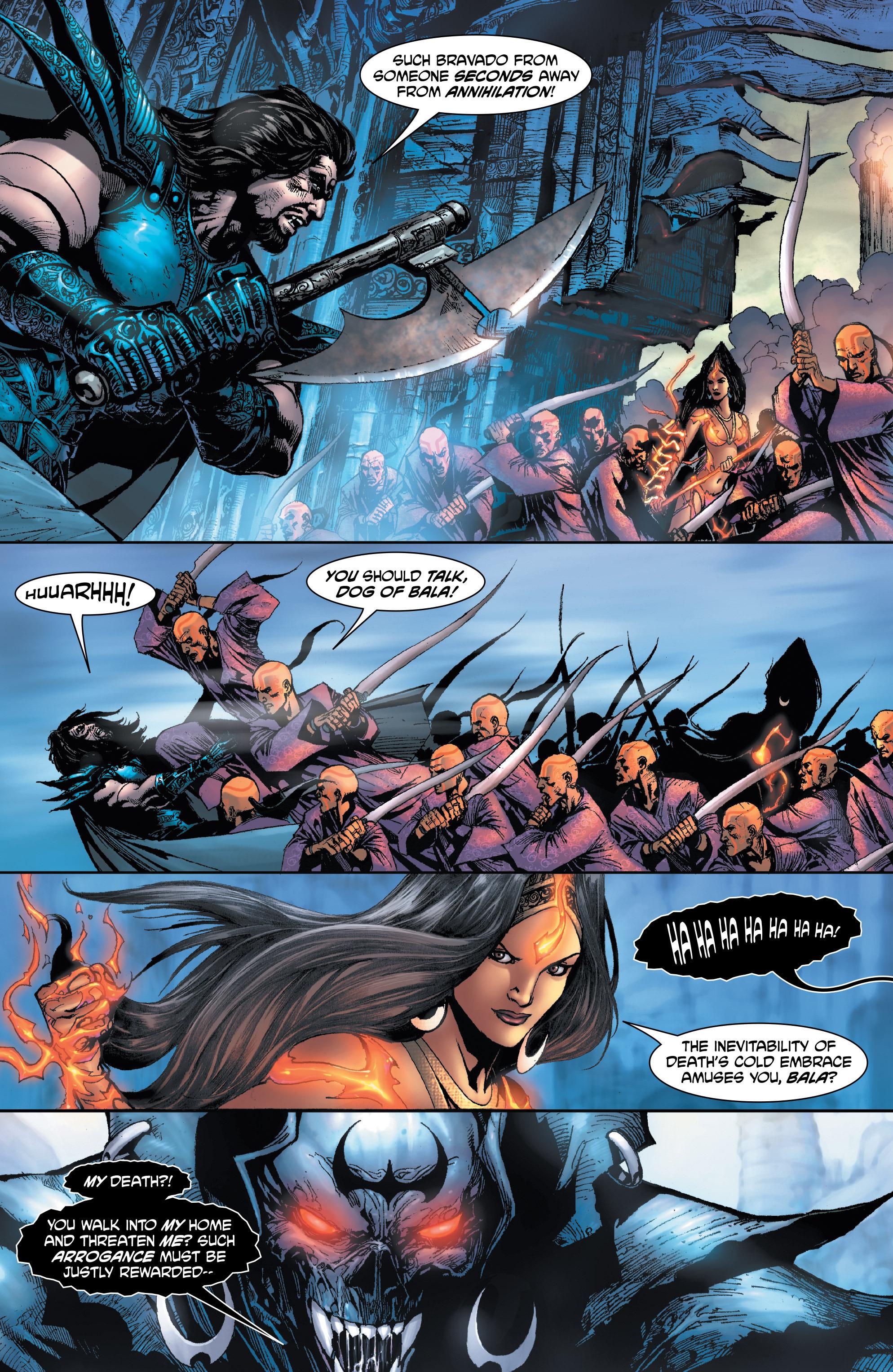 Read online Shekhar Kapur's Devi: Rebirth comic -  Issue #1 - 9