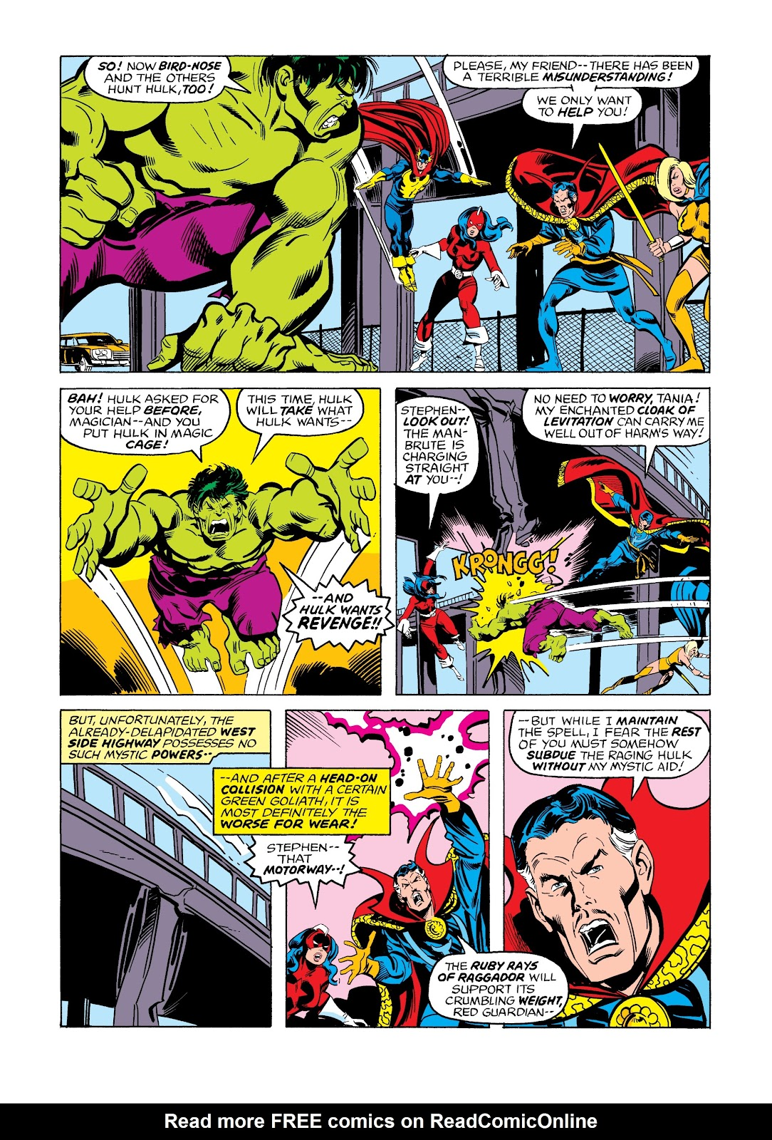 Read online Marvel Masterworks: The Incredible Hulk comic -  Issue # TPB 12 (Part 3) - 36