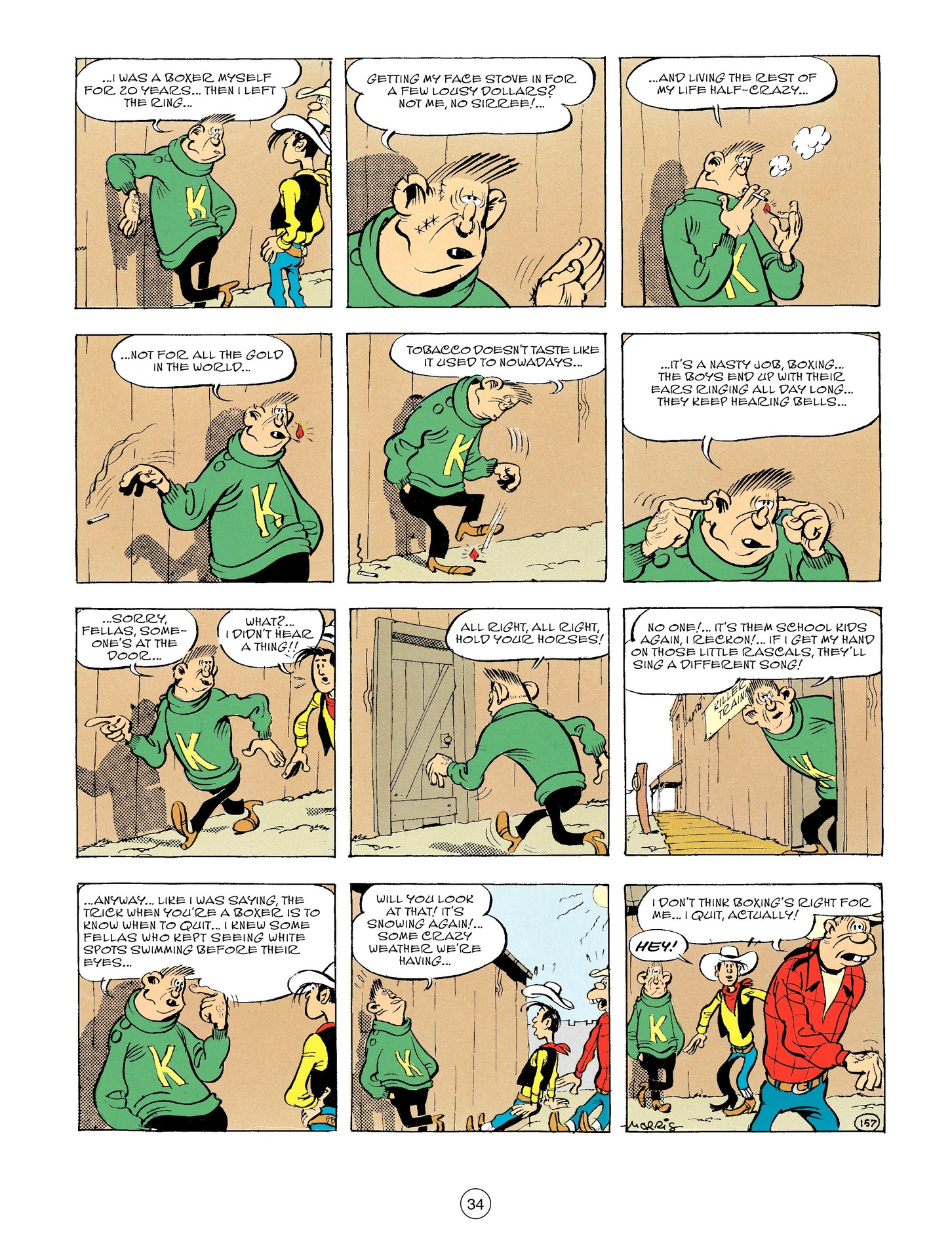 Read online A Lucky Luke Adventure comic -  Issue #56 - 34