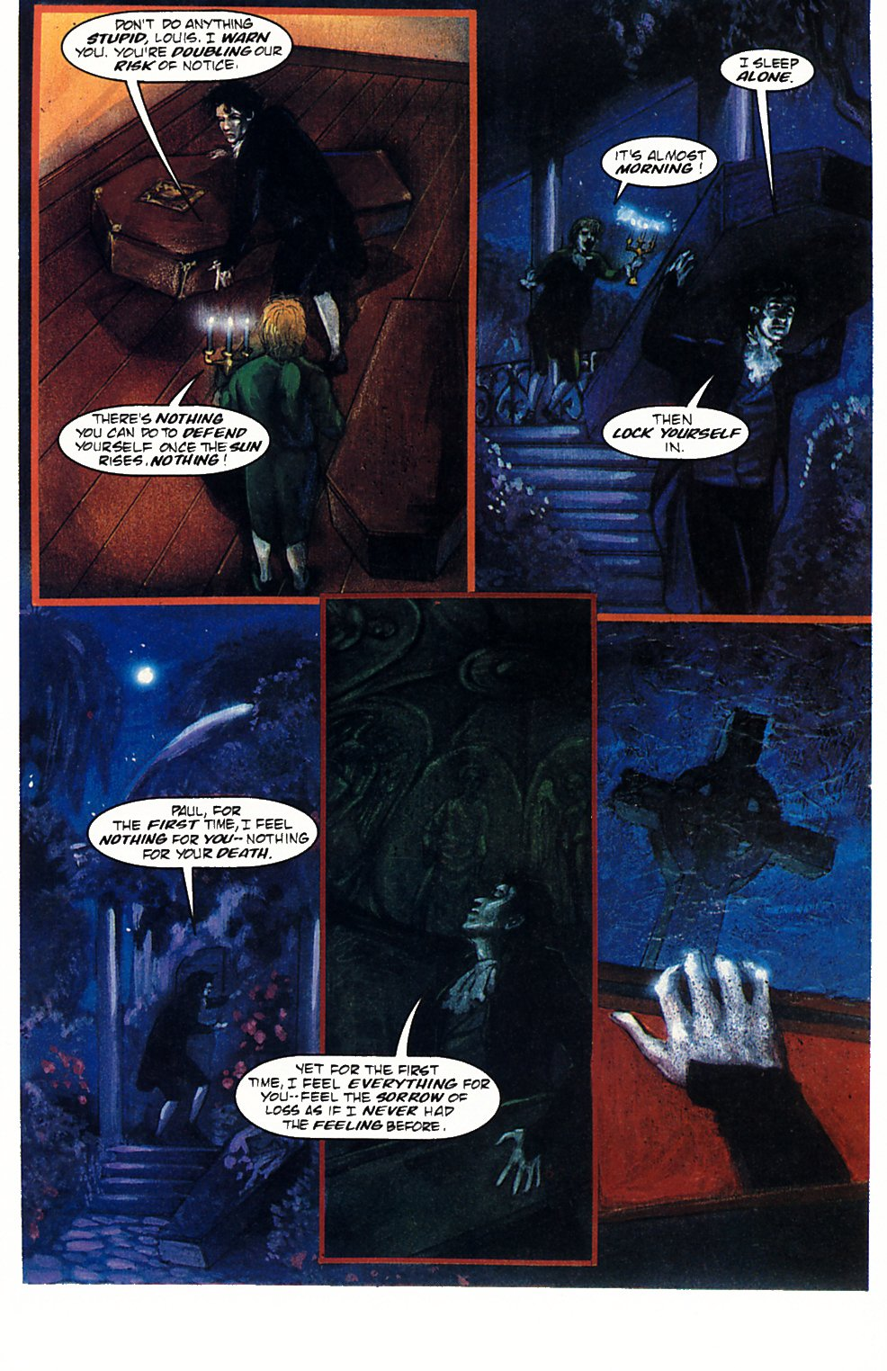 Read online Anne Rice's Interview with the Vampire comic -  Issue #1 - 34