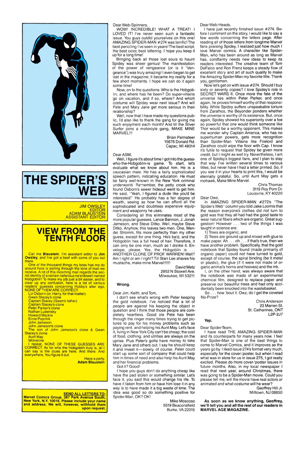 The Amazing Spider-Man (1963) 276 Page 23