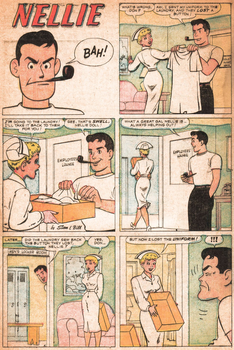 Read online Nellie The Nurse (1957) comic -  Issue # Full - 9
