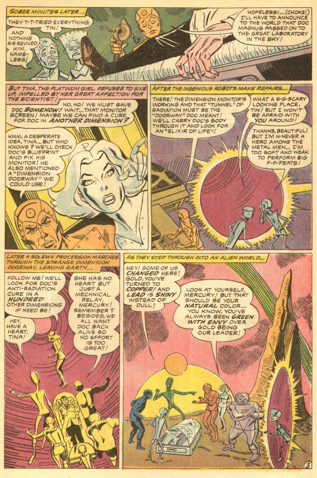 Metal Men (1963) issue 30 - Page 5