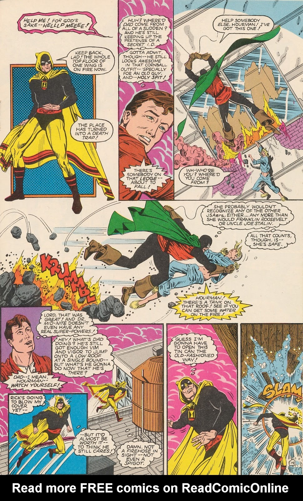 Infinity Inc. (1984) issue 20 - Page 19