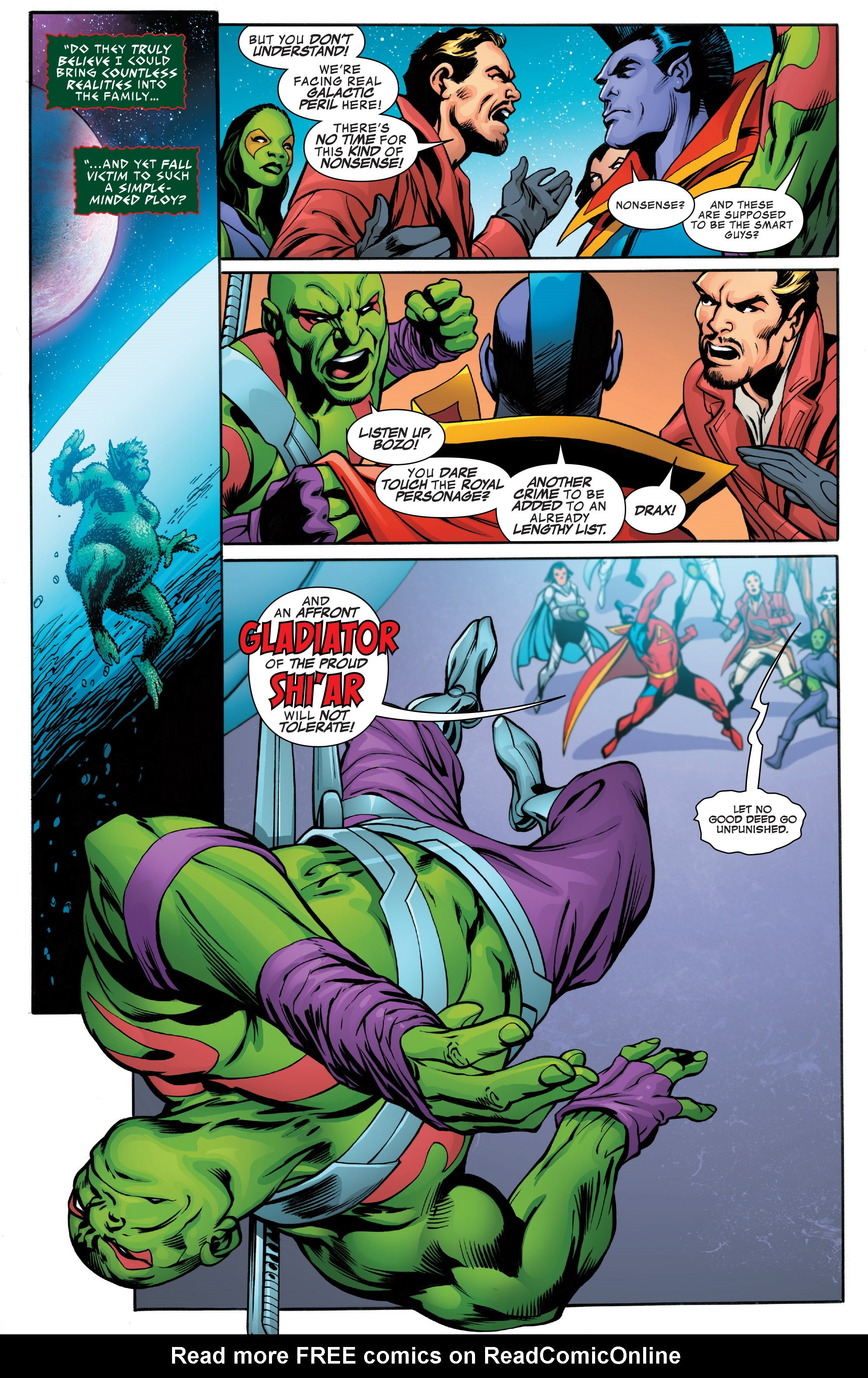 Read online Guardians of the Galaxy: Mother Entropy comic -  Issue #4 - 5