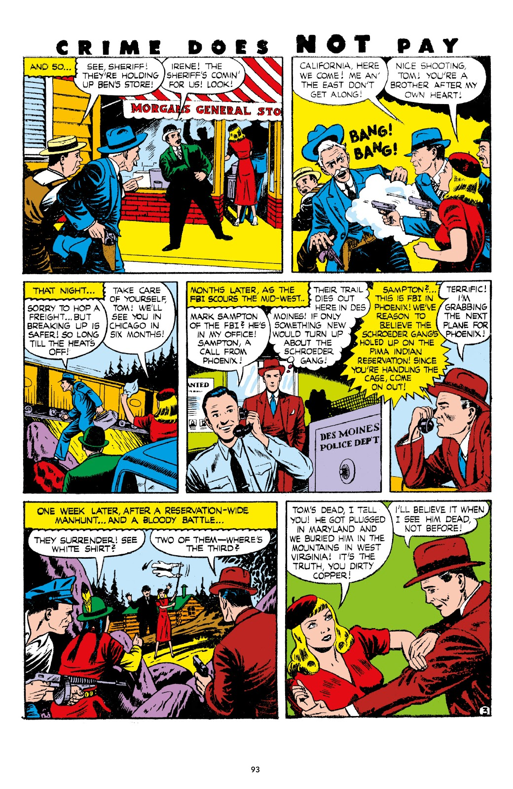 Read online Crime Does Not Pay Archives comic -  Issue # TPB 7 (Part 1) - 95
