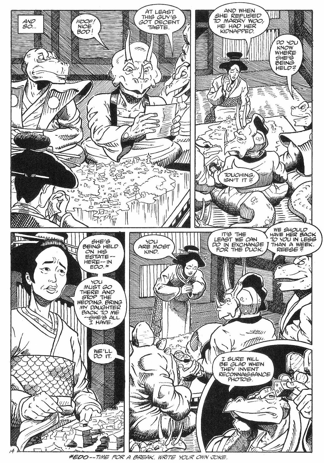 Dinosaurs For Hire (1988) issue 8 - Page 16