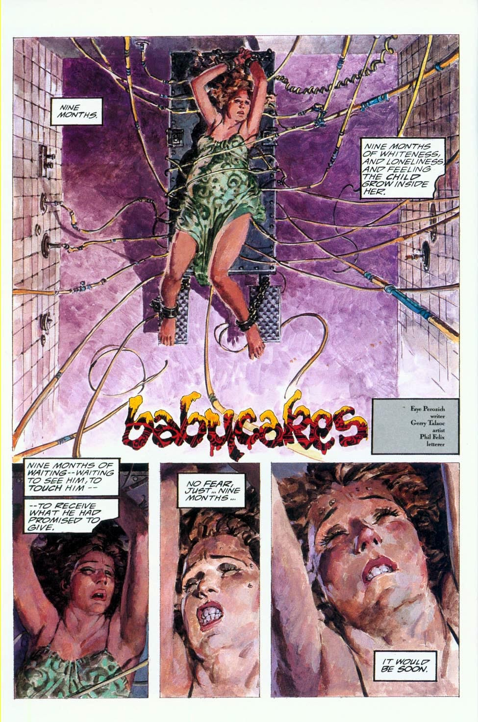 Read online Clive Barker's Hellraiser (1989) comic -  Issue # Annual 1 - 6