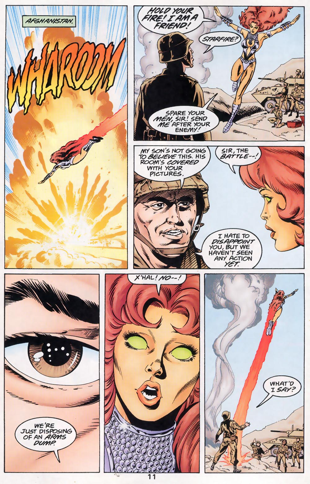 Read online The Titans (1999) comic -  Issue #46 - 12