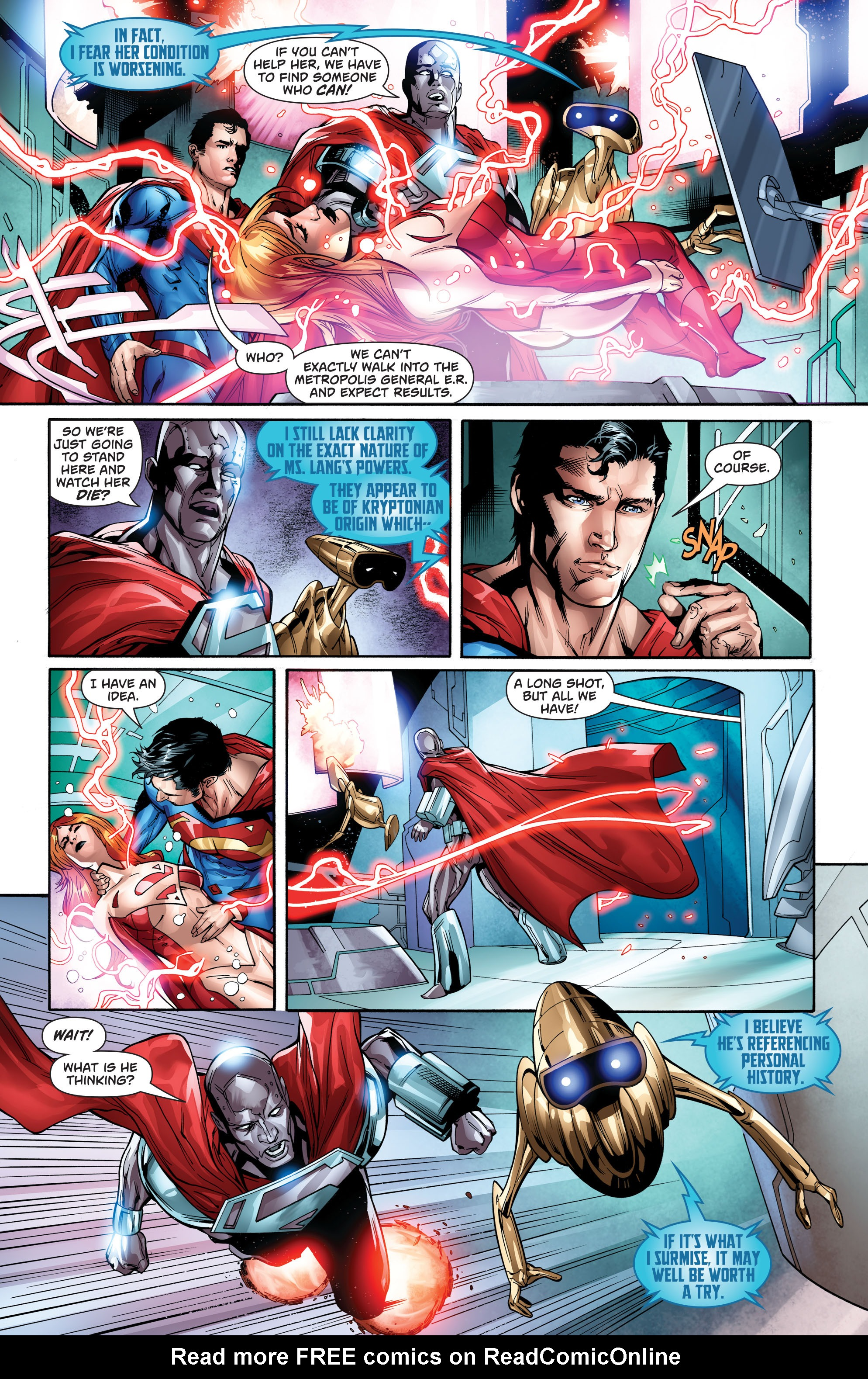 Read online Action Comics (2016) comic -  Issue #974 - 11