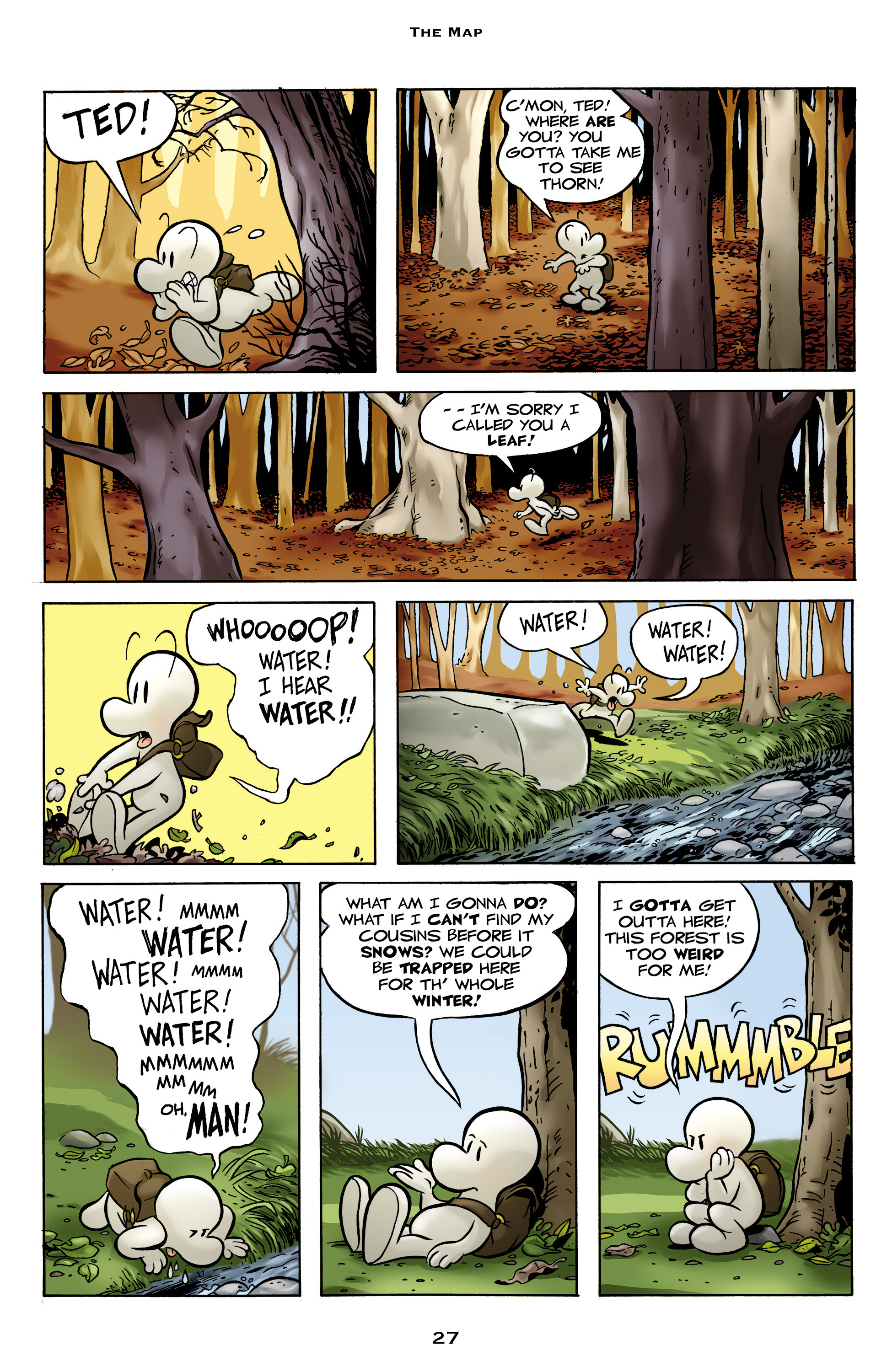 Read online Bone: Out From Boneville comic -  Issue # TPB - 27