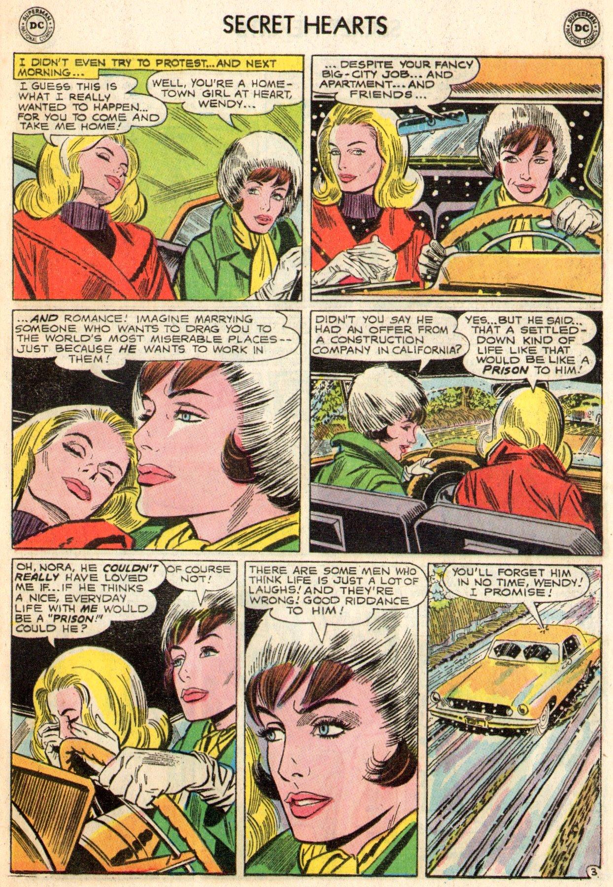 Read online Secret Hearts comic -  Issue #103 - 13