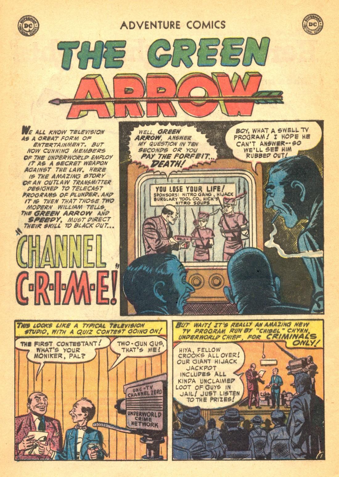 Read online Adventure Comics (1938) comic -  Issue #202 - 34