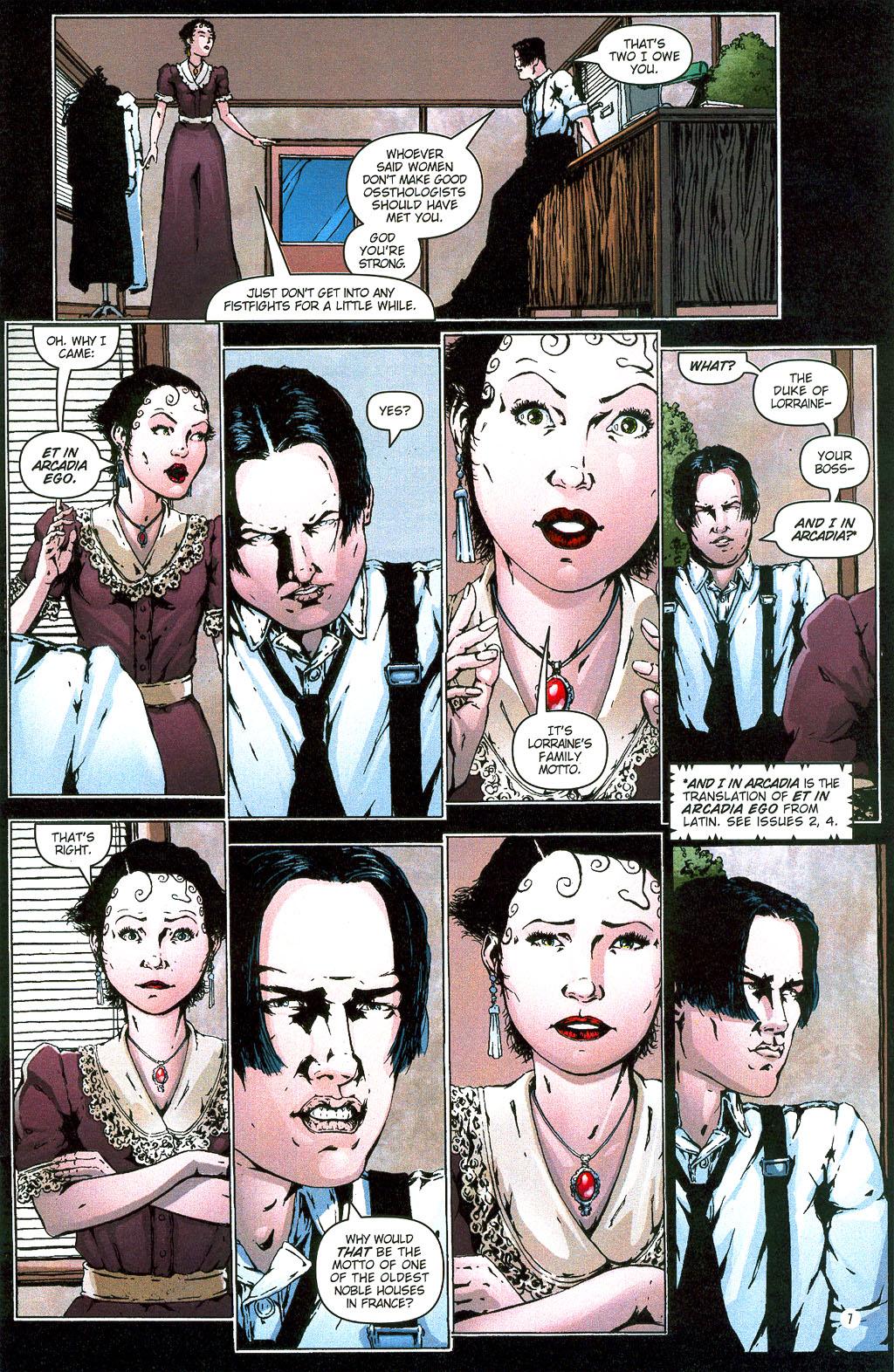 Read online Rex Mundi comic -  Issue #6 - 10