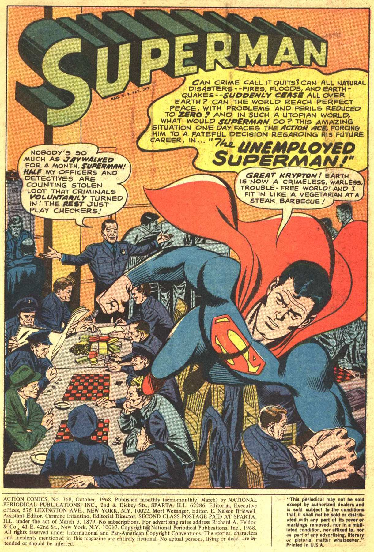 Read online Action Comics (1938) comic -  Issue #368 - 2