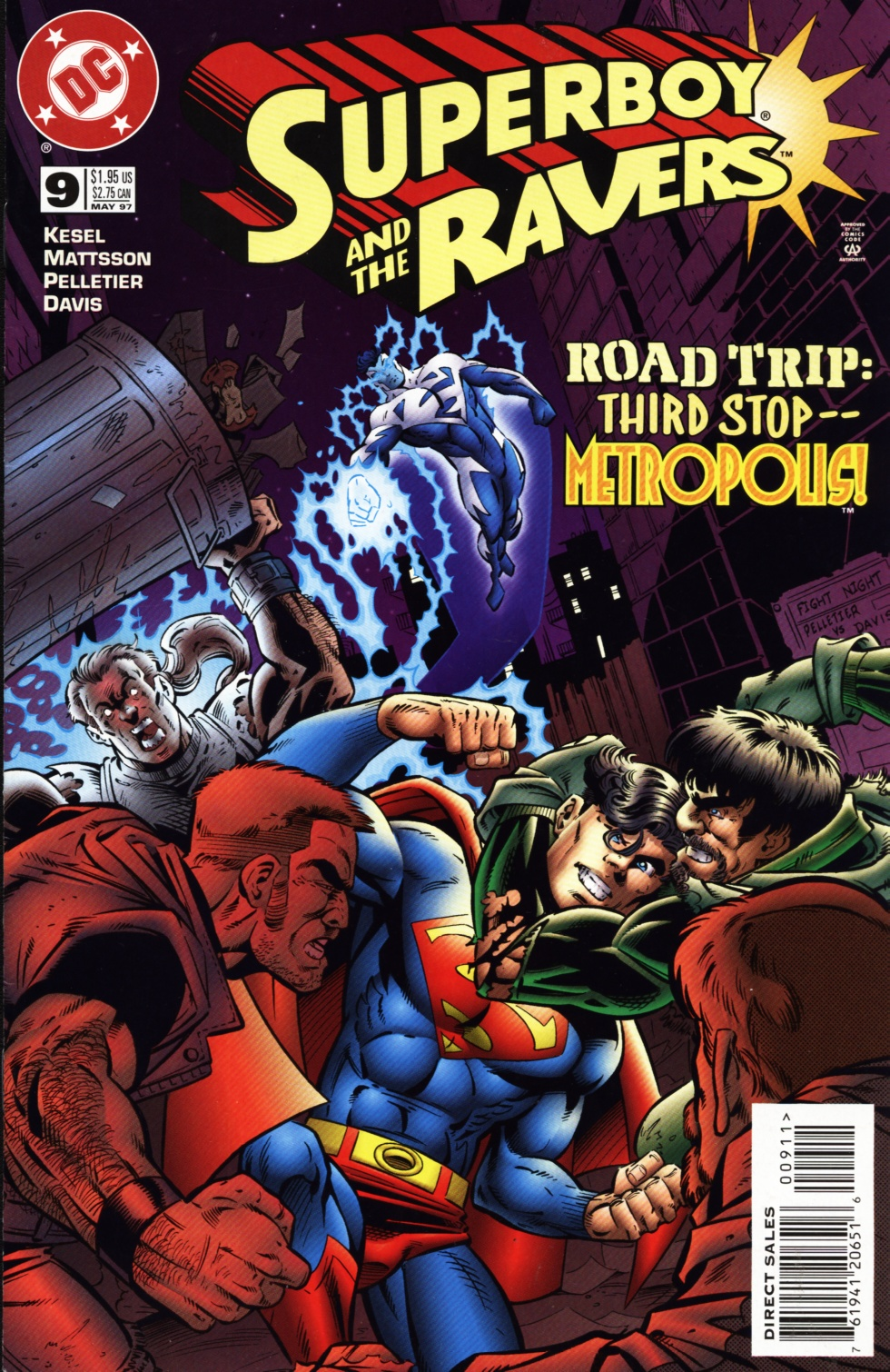 Read online Superboy & The Ravers comic -  Issue #9 - 1