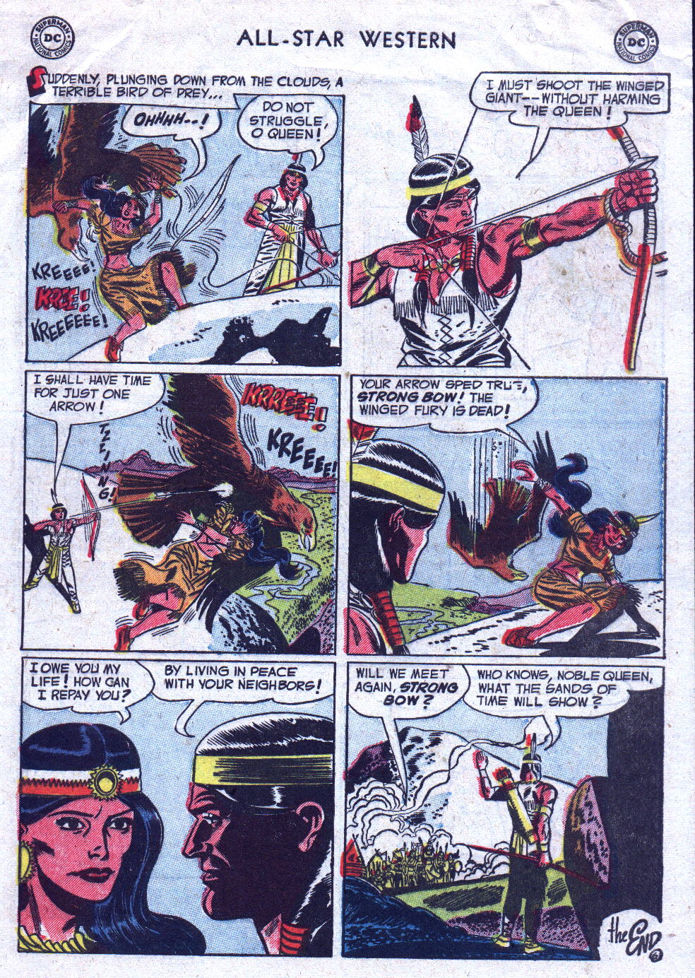 Read online All-Star Western (1951) comic -  Issue #71 - 33