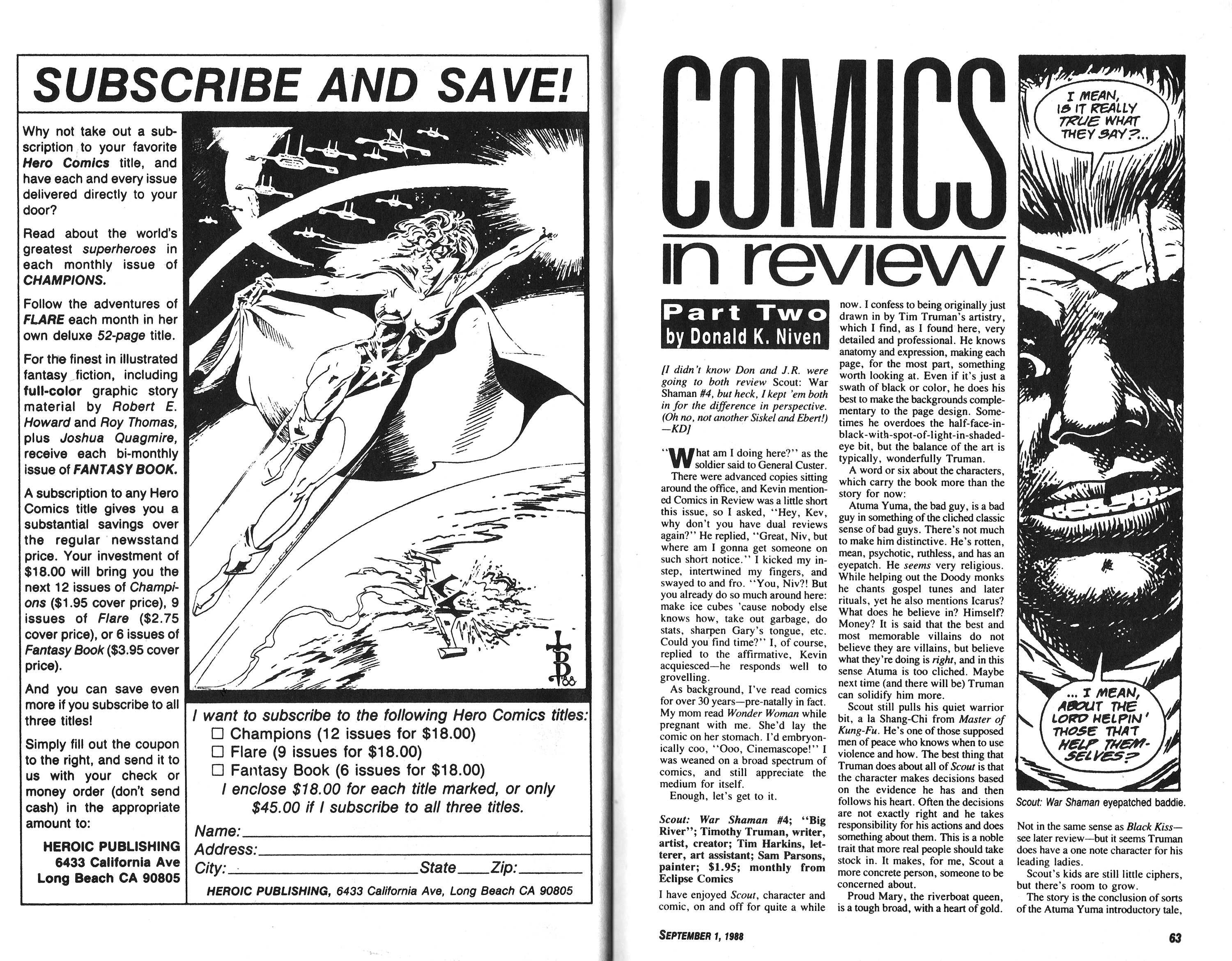 Read online Amazing Heroes comic -  Issue #148 - 32