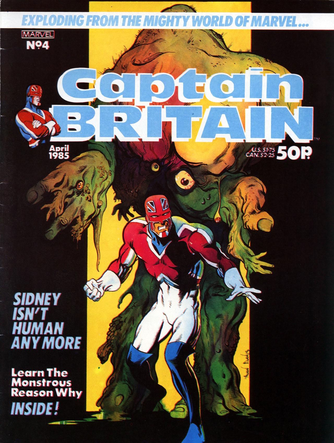Captain Britain (1985) 4 Page 1