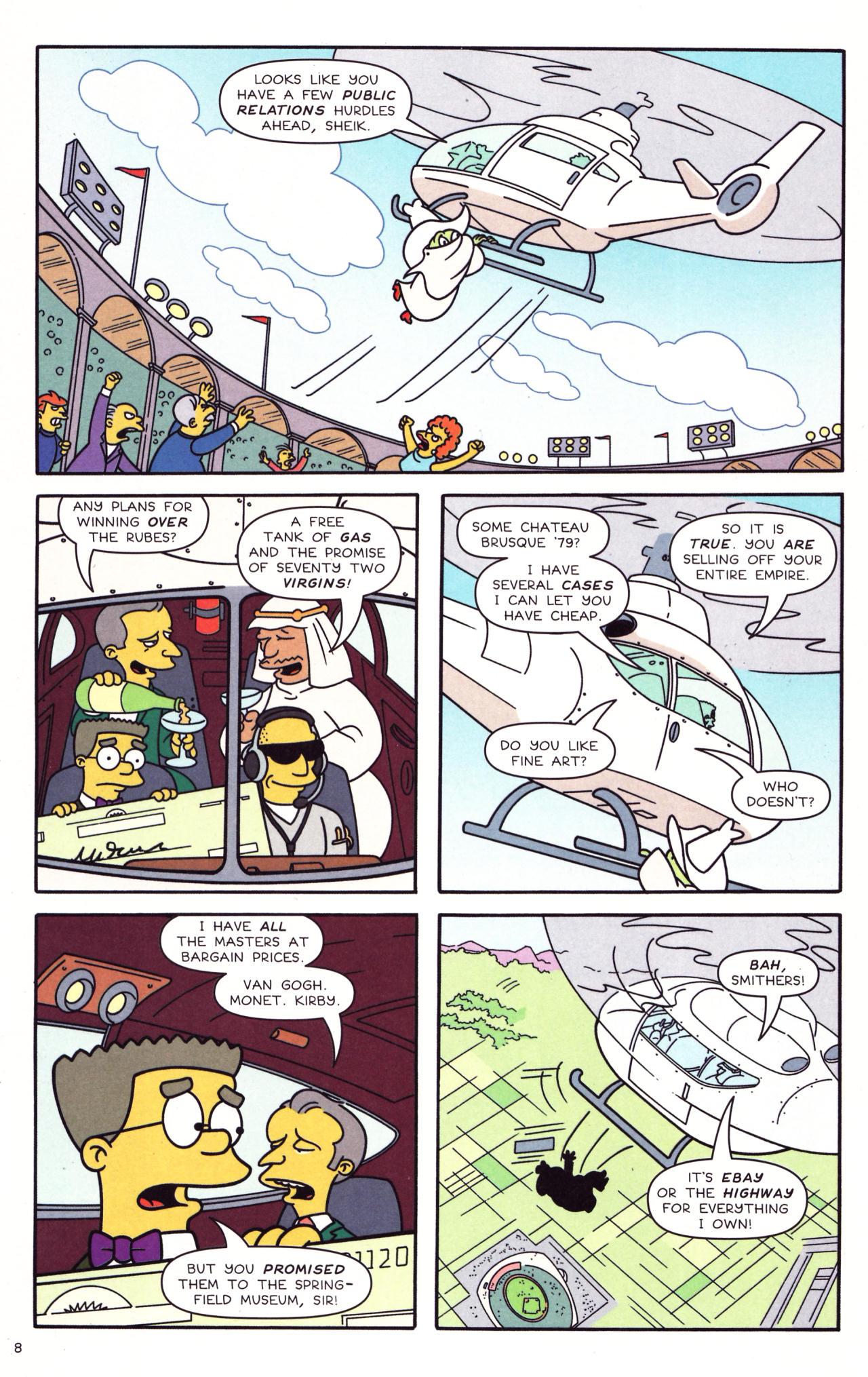 Read online Simpsons Comics comic -  Issue #133 - 7