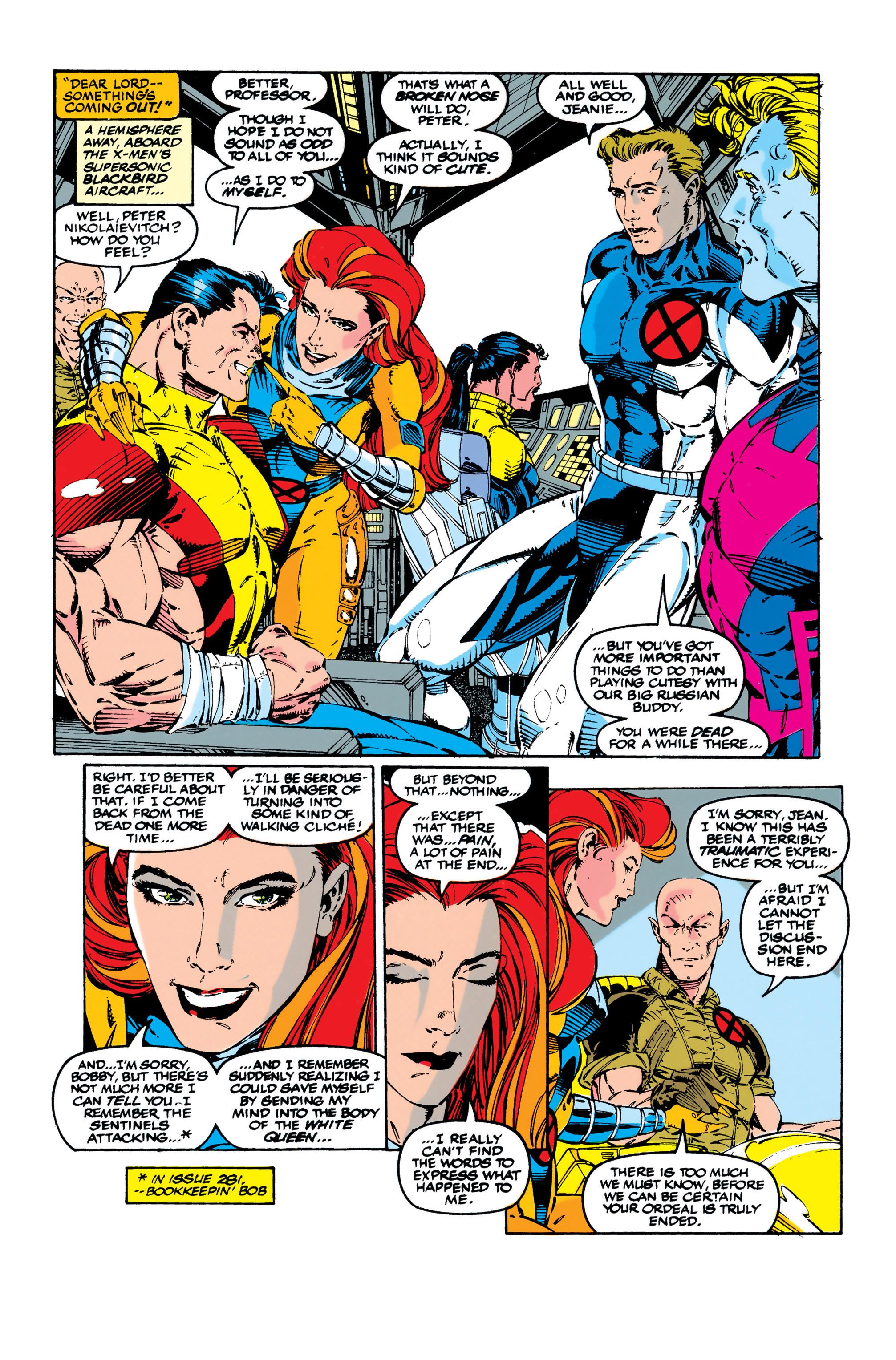 Read online Uncanny X-Men (1963) comic -  Issue #284 - 5