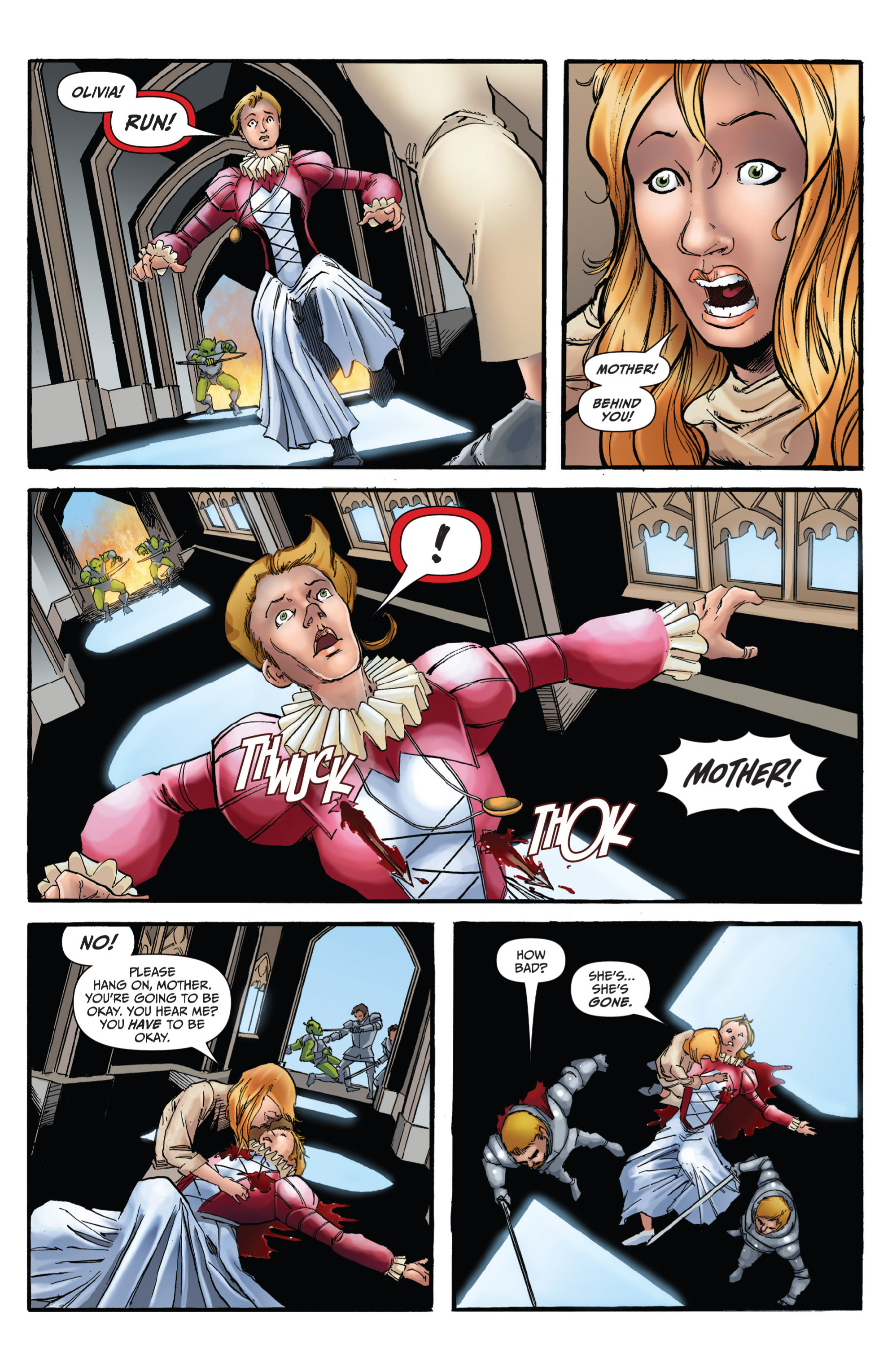 Read online Grimm Fairy Tales presents Grimm Universe comic -  Issue # TPB - 112