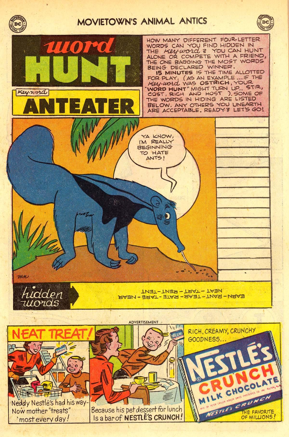 Read online Animal Antics comic -  Issue #33 - 33