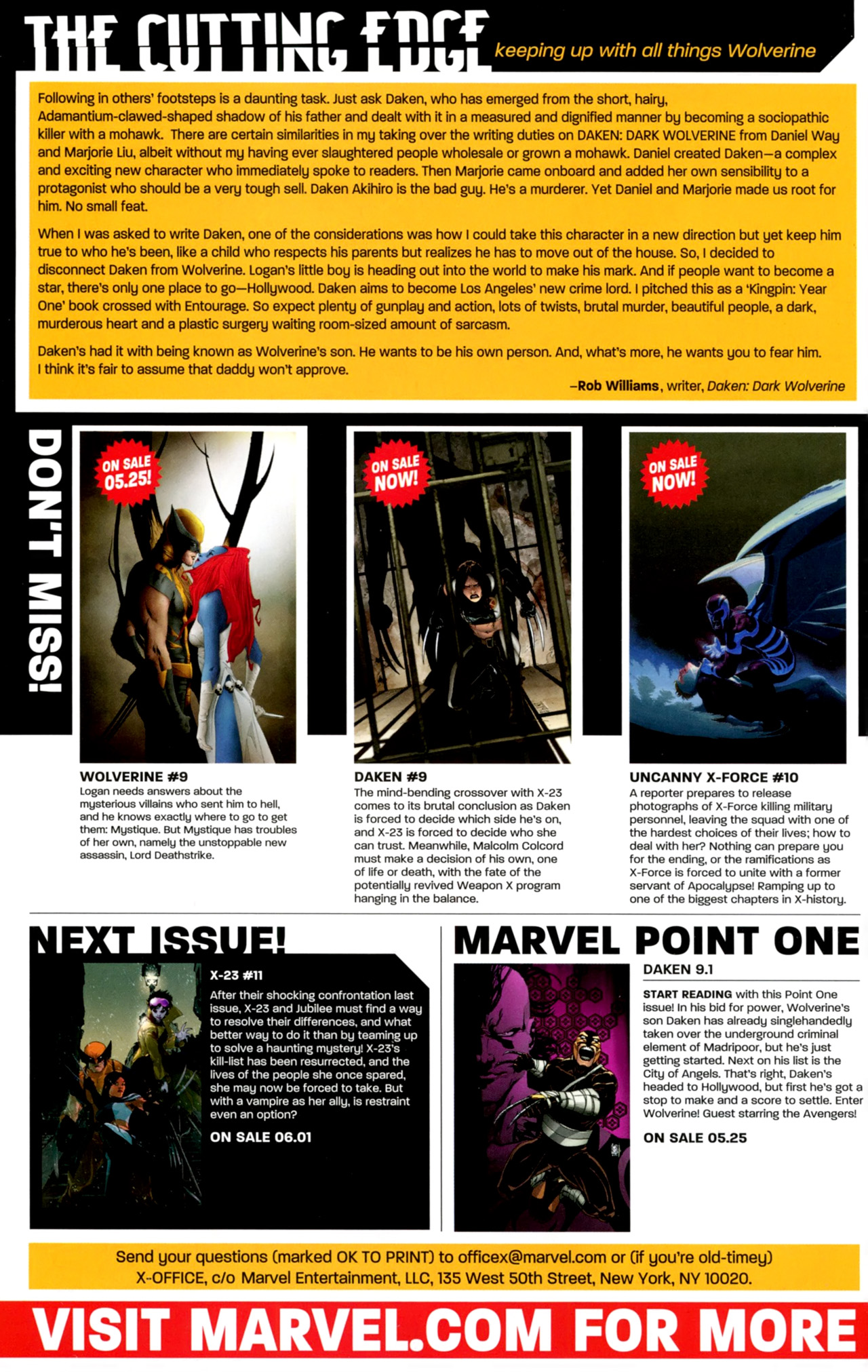 Read online X-23 (2010) comic -  Issue #10 - 23
