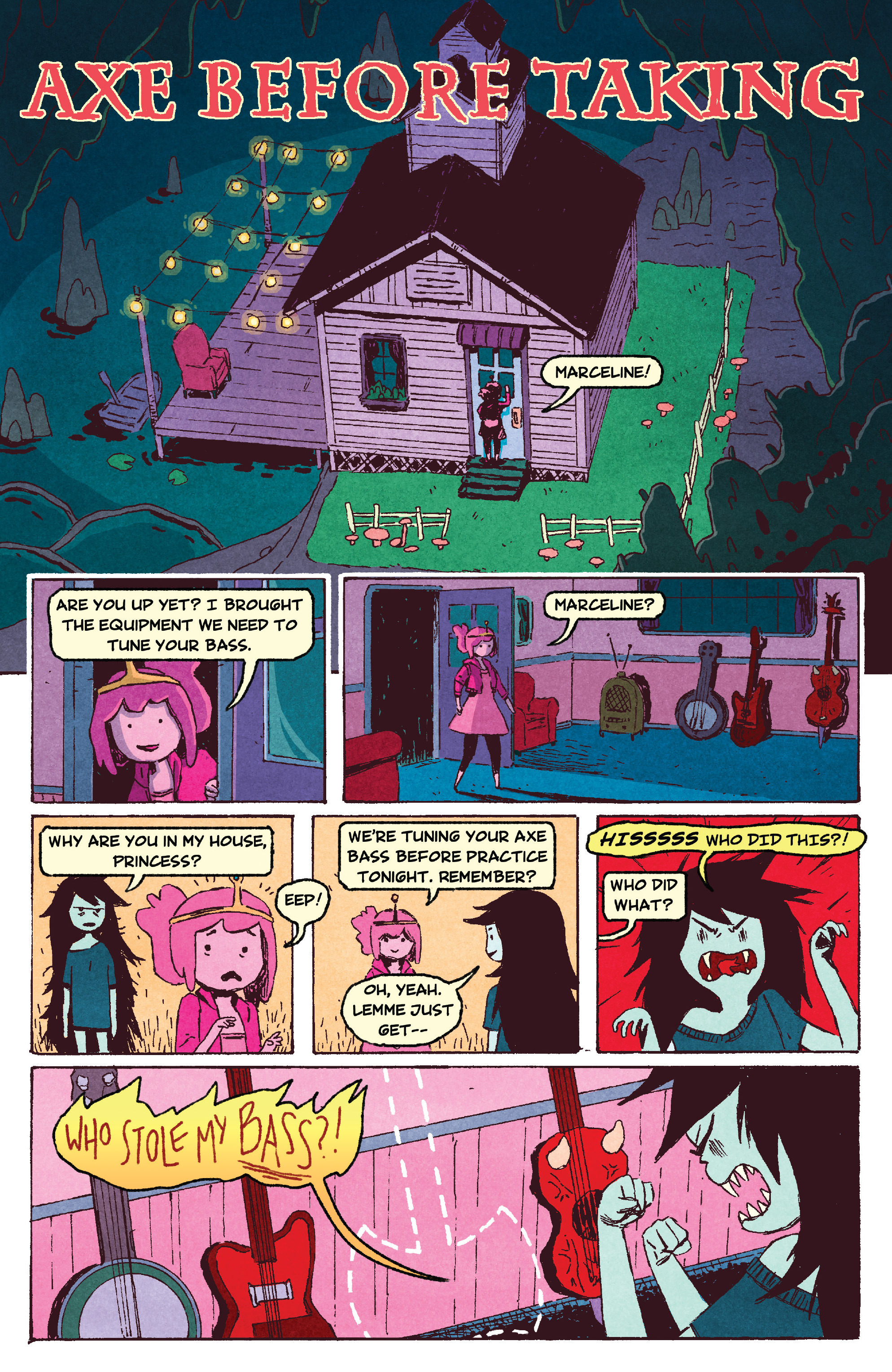 Read online Adventure Time comic -  Issue #40 - 19