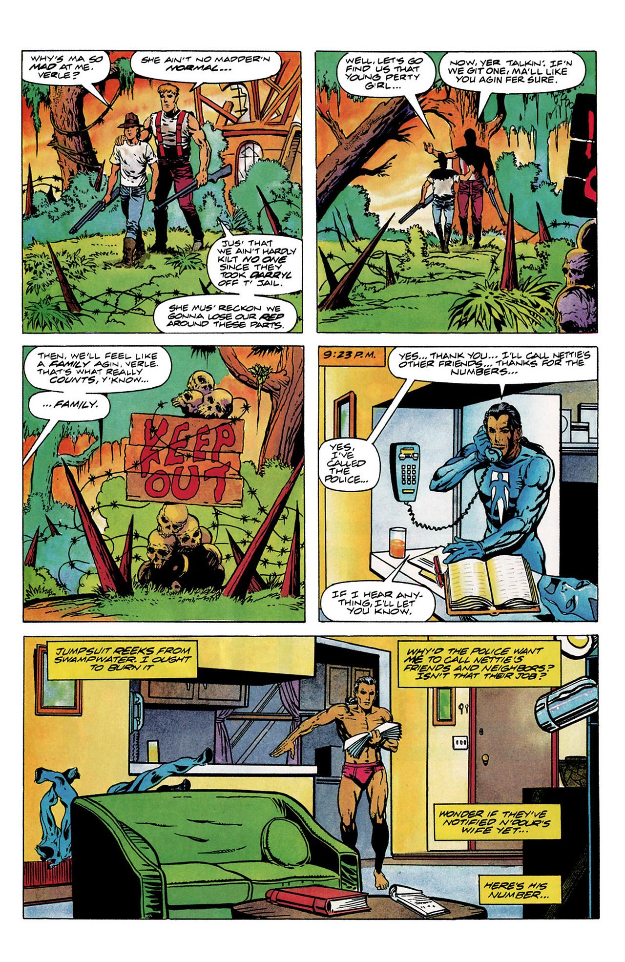 Read online Shadowman (1992) comic -  Issue #6 - 8