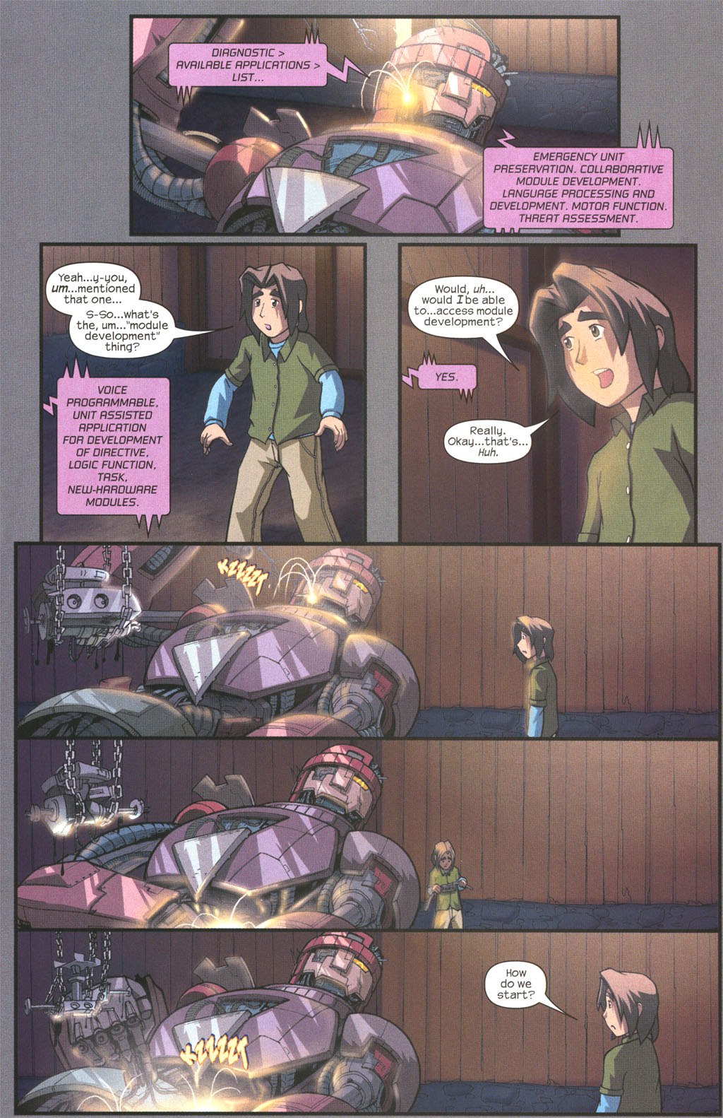 Read online Sentinel comic -  Issue #2 - 21