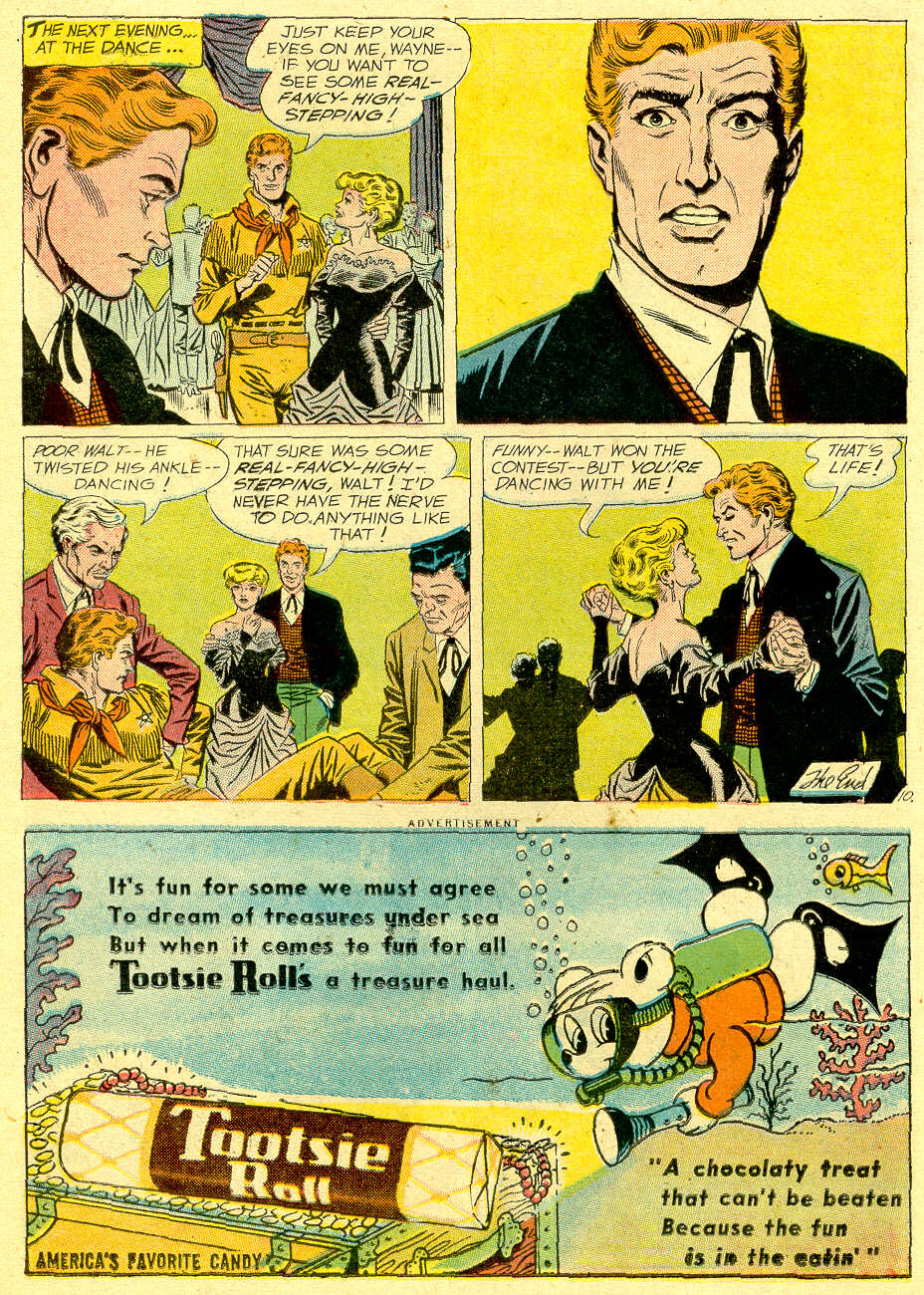 Read online All-Star Western (1951) comic -  Issue #103 - 12