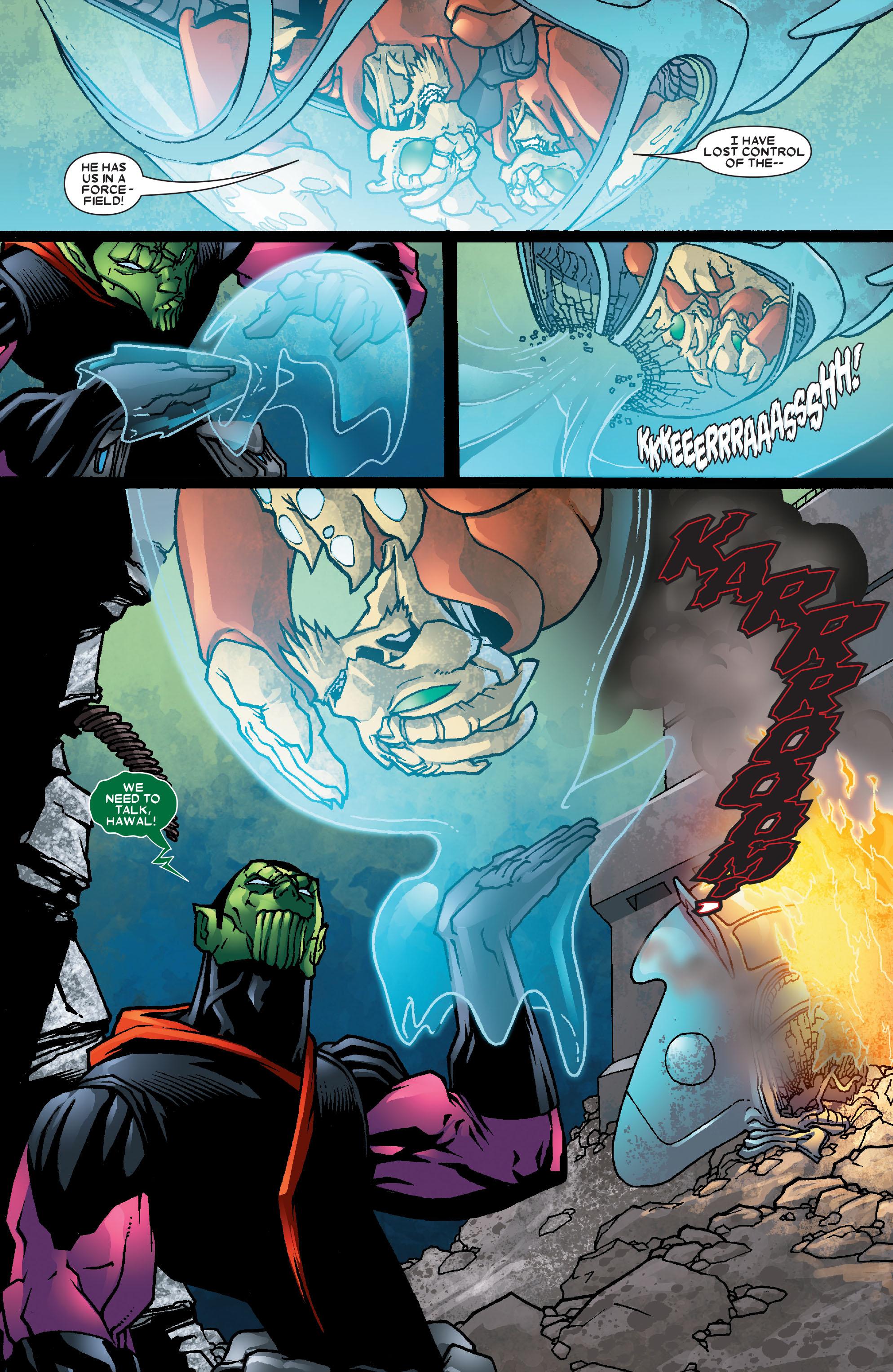 Read online Annihilation: Super-Skrull comic -  Issue #2 - 17