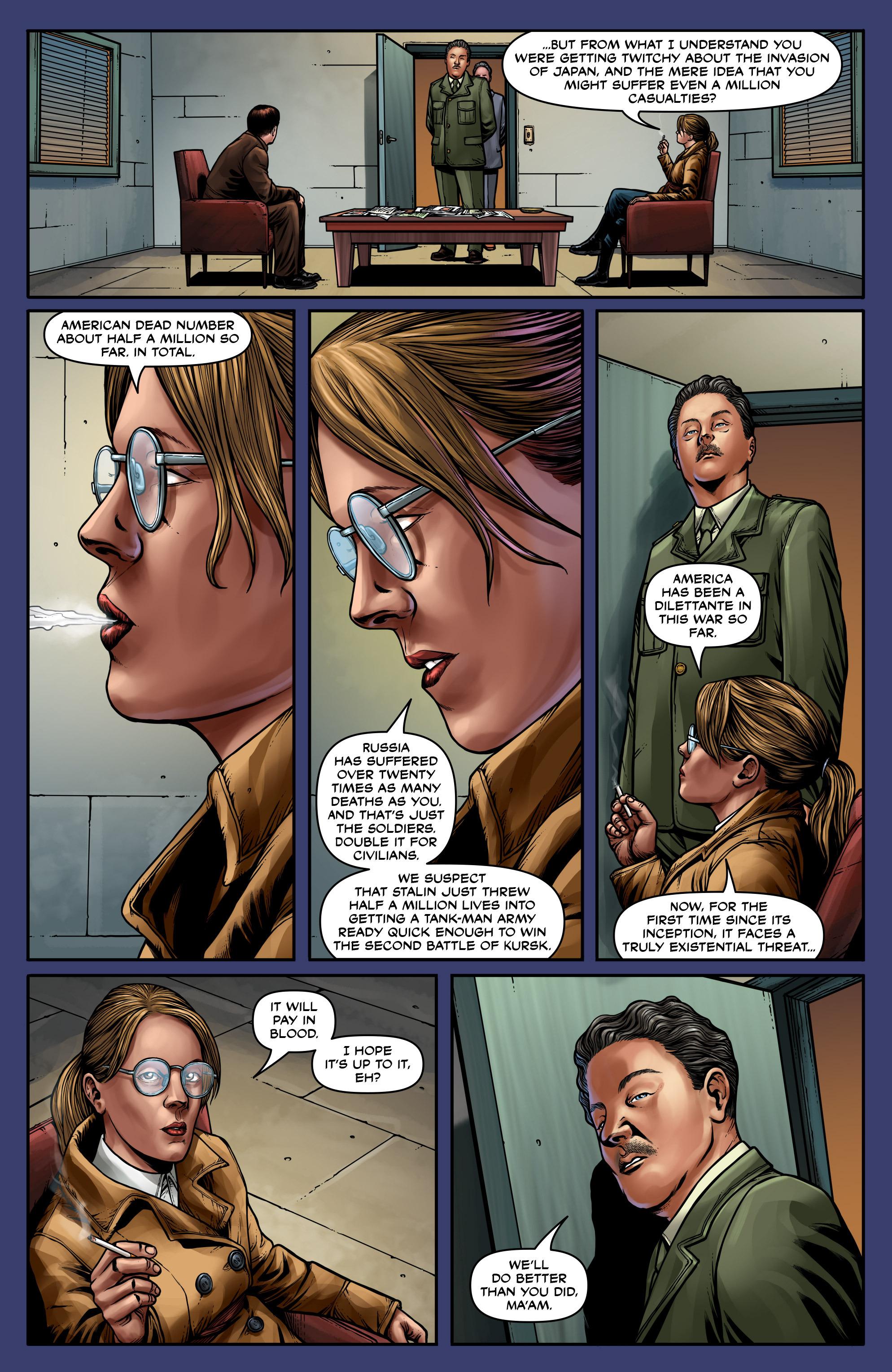 Read online Uber: Invasion comic -  Issue #5 - 8
