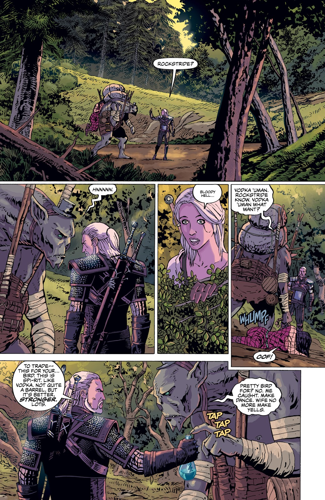Read online The Witcher Omnibus comic -  Issue # TPB (Part 4) - 1