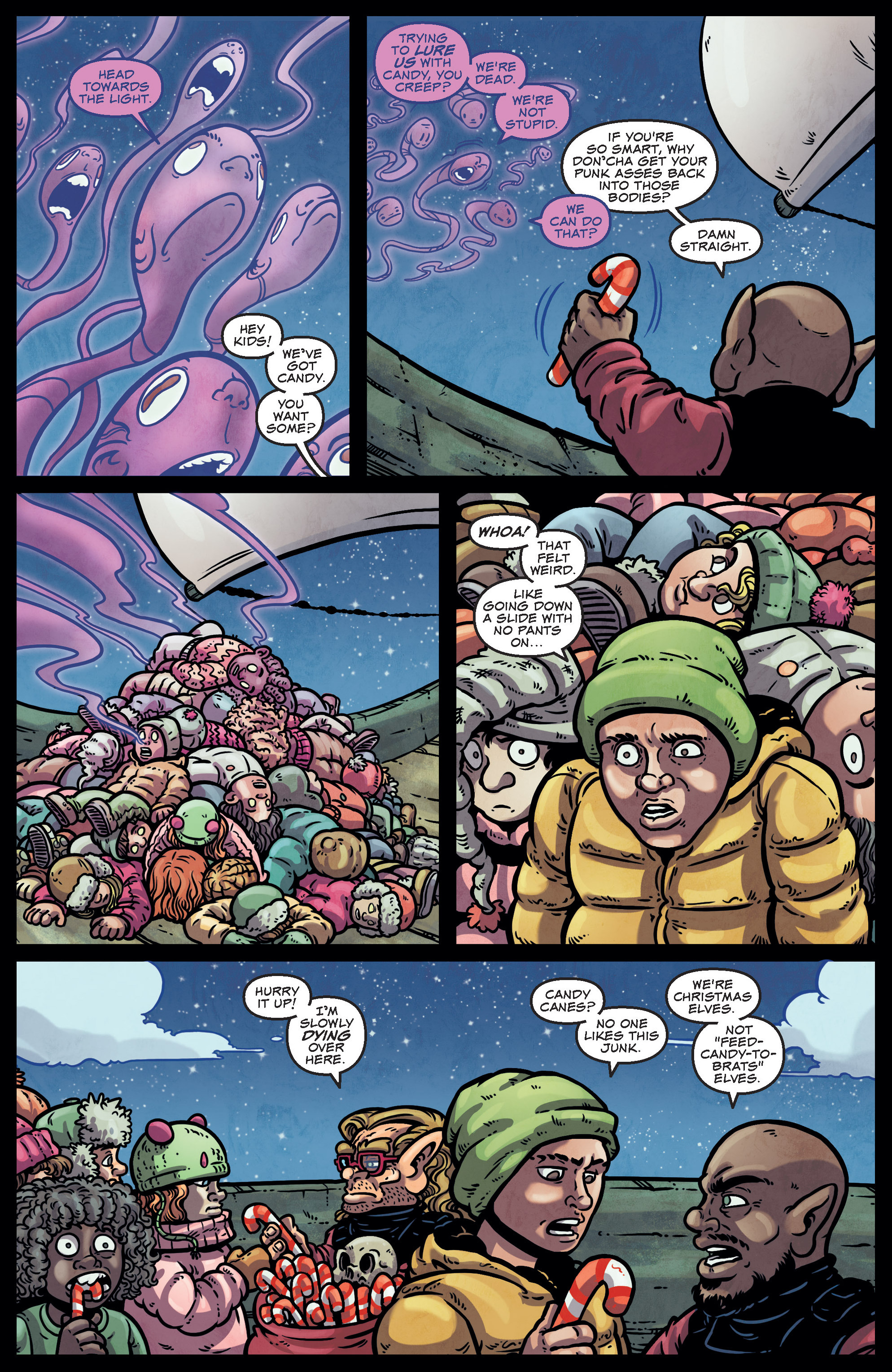 Read online Sleigher comic -  Issue #4 - 20