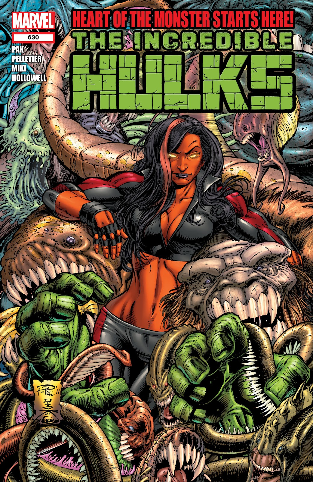 Read online Incredible Hulks (2010) comic -  Issue # _TPB Heart of the Monster - 4