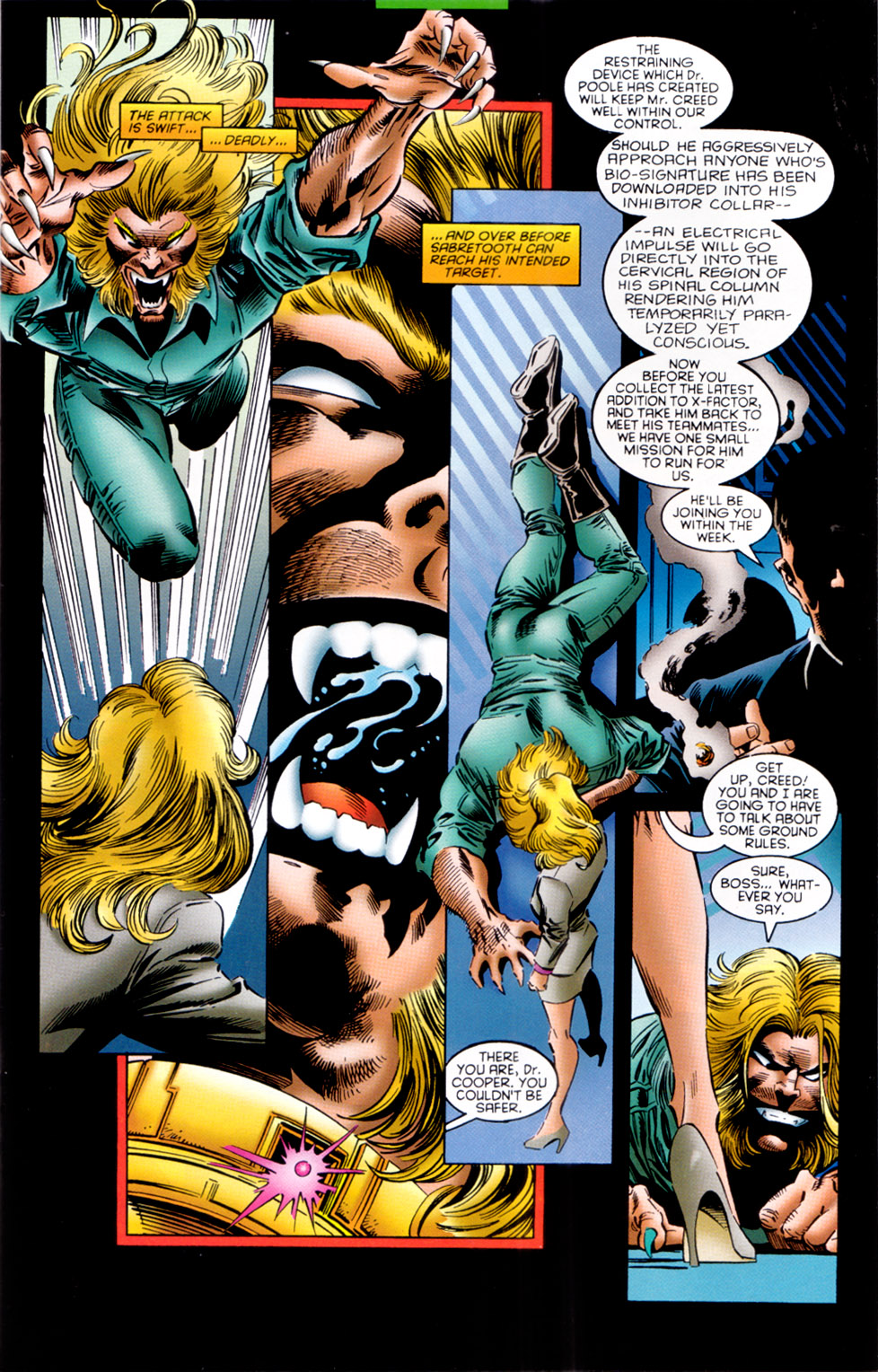 Read online X-Factor (1986) comic -  Issue #121 - 9