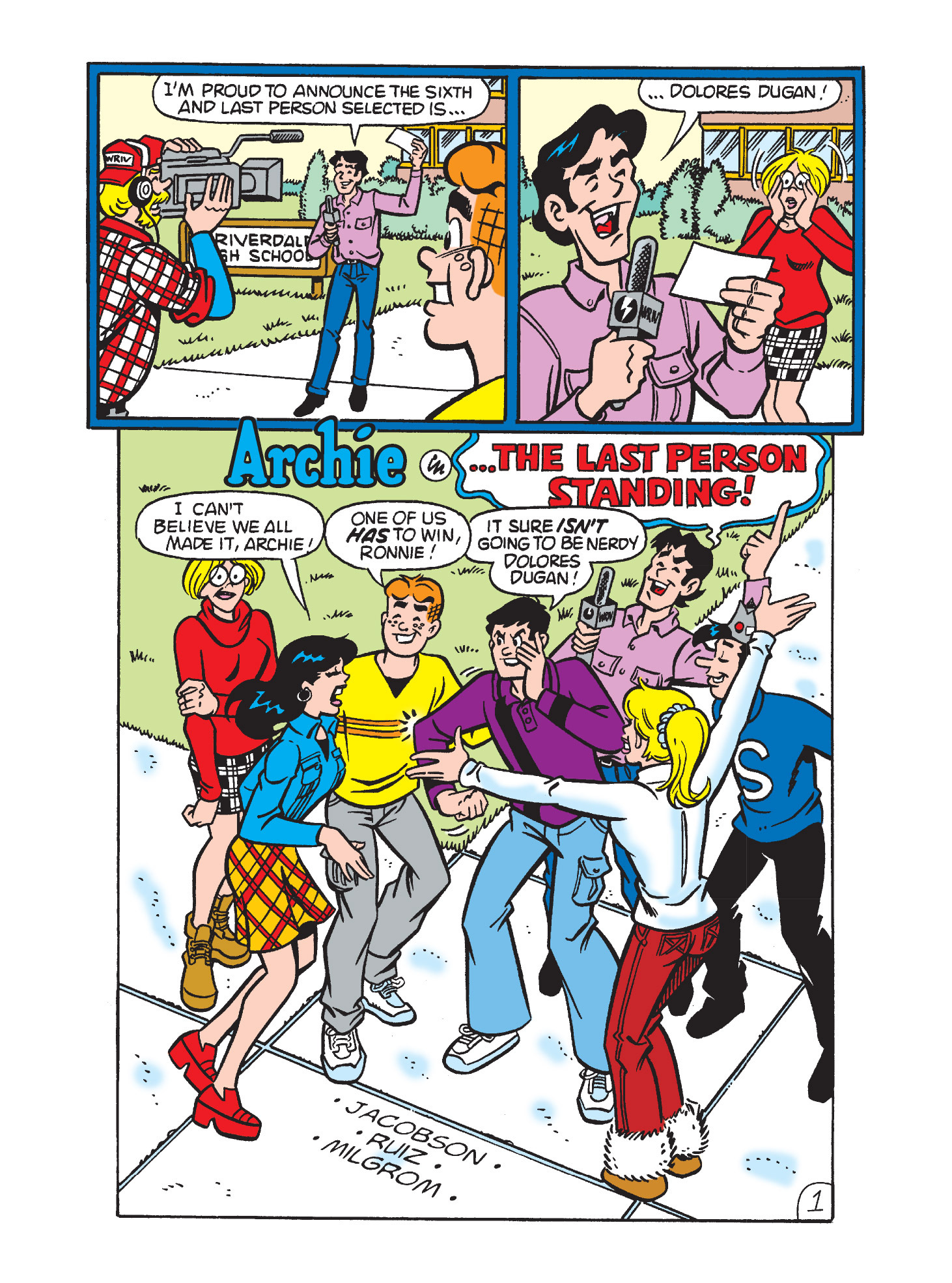Read online Archie's Funhouse Double Digest comic -  Issue #9 - 105