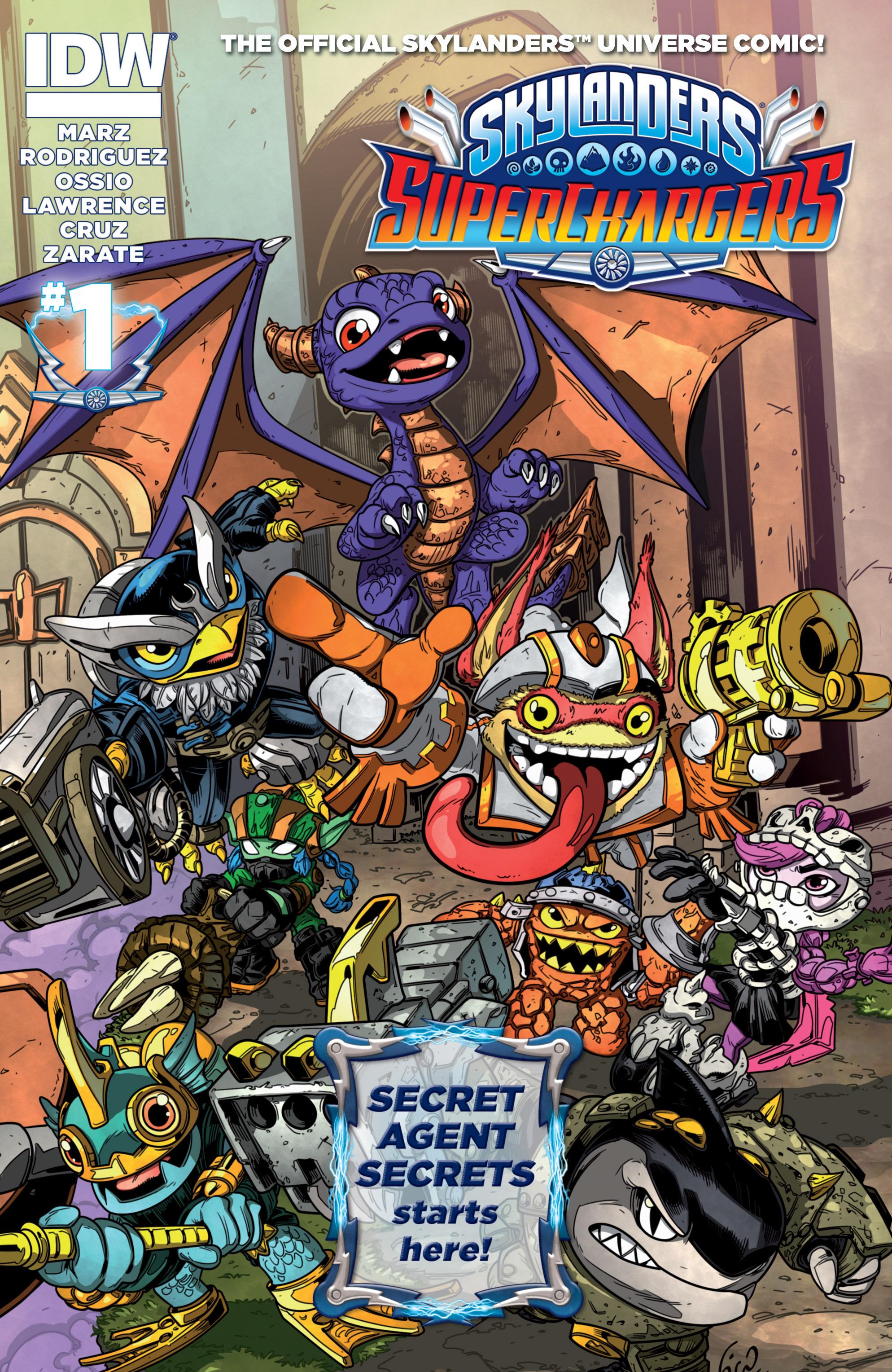 Read online Skylanders Superchargers comic -  Issue #1 - 1