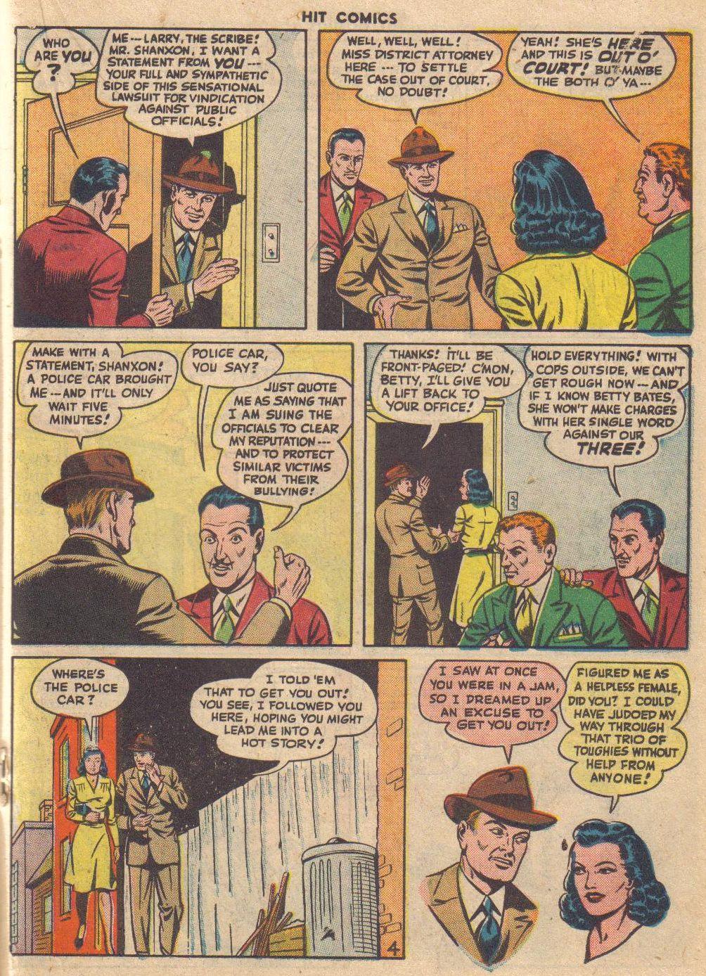 Read online Hit Comics comic -  Issue #46 - 33