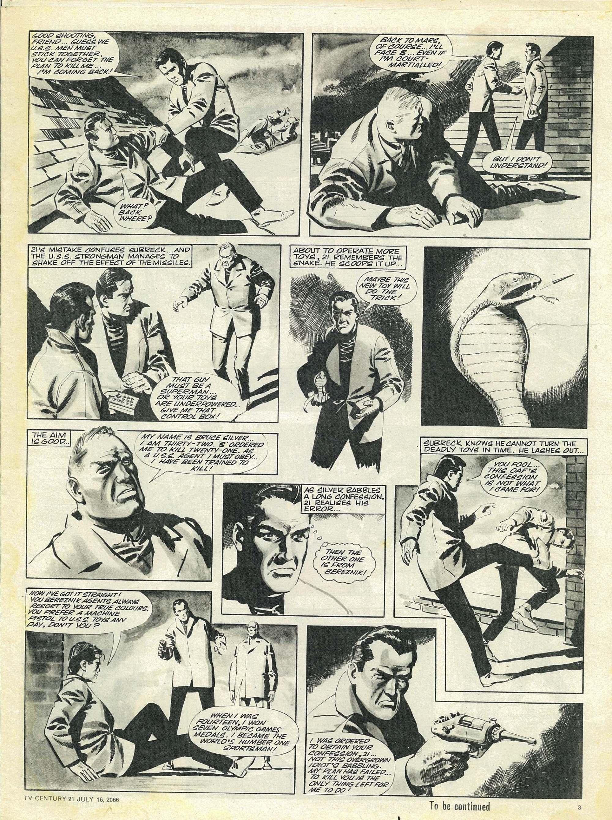 Read online TV Century 21 (TV 21) comic -  Issue #78 - 3