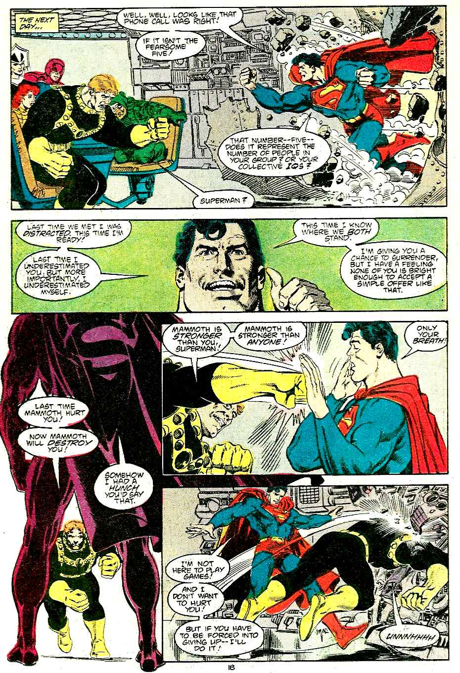 Adventures of Superman (1987) 430 Page 18