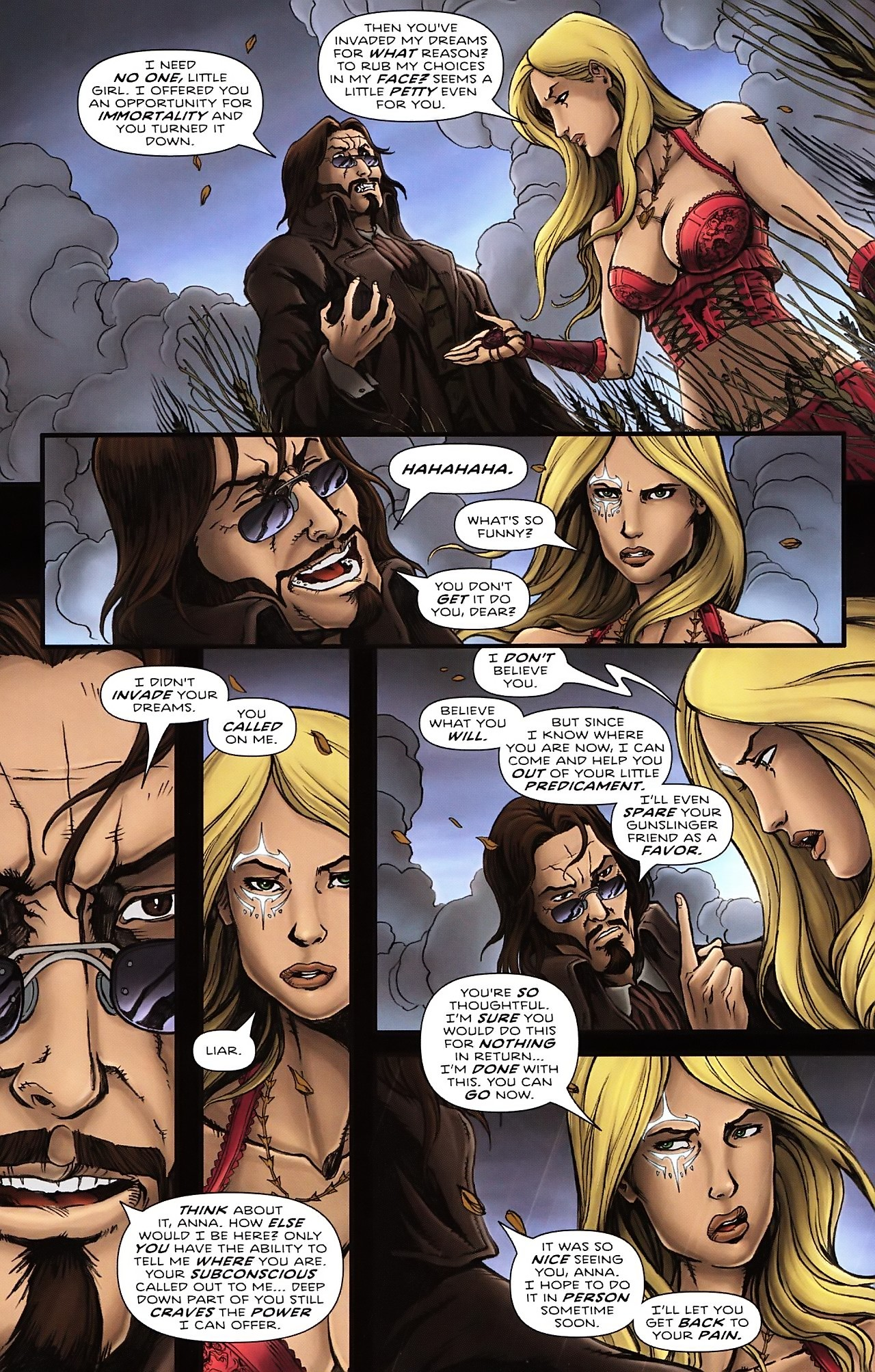 Read online Salem's Daughter: The Haunting comic -  Issue #4 - 6