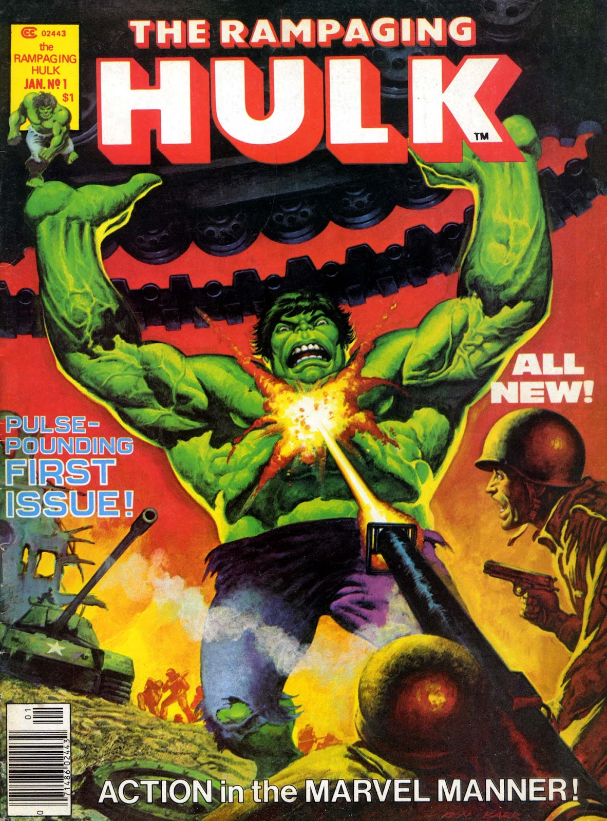 The Rampaging Hulk (1977) issue 1 - Page 1