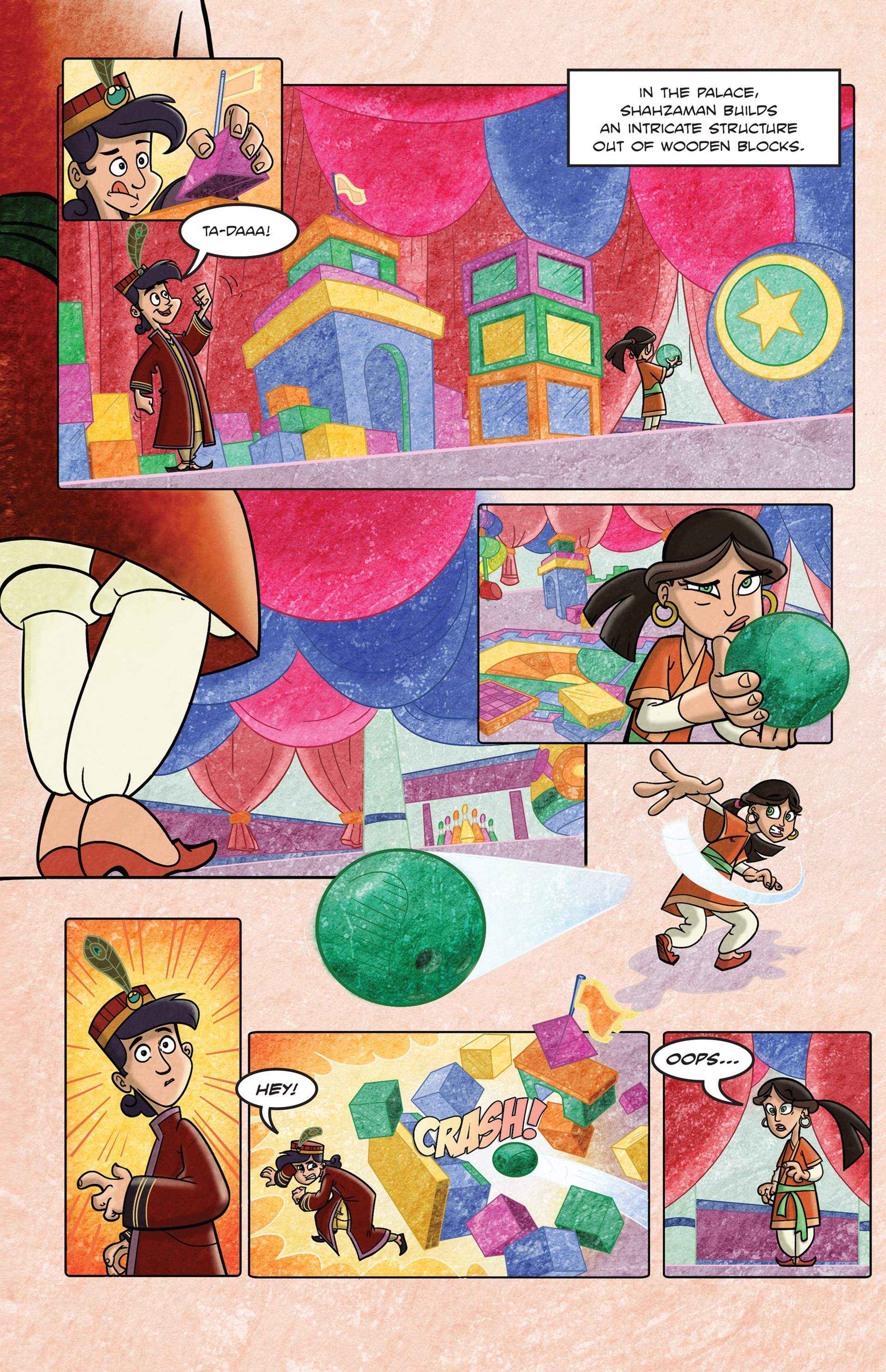 Read online 1001 Nights comic -  Issue #3 - 3