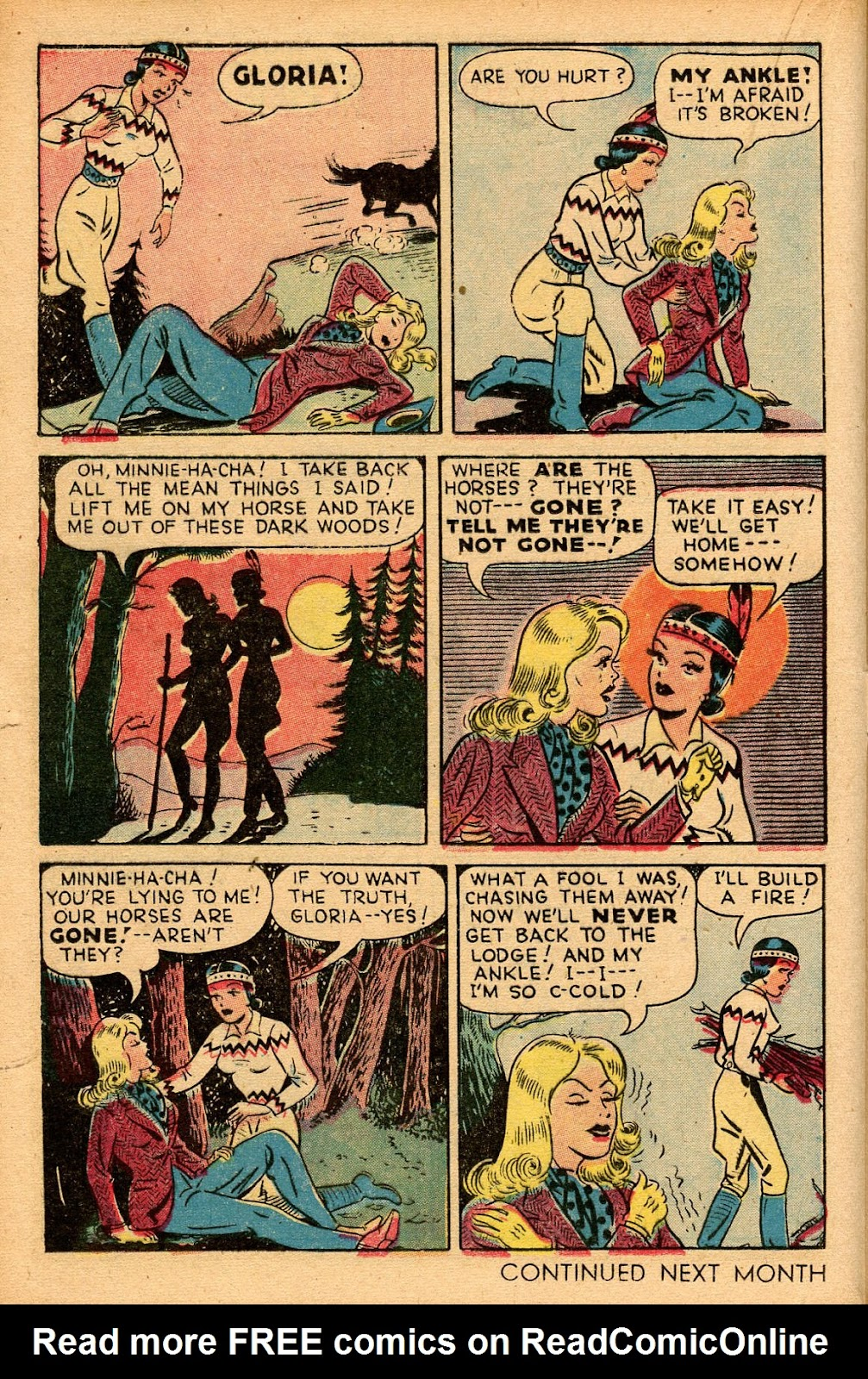 Read online Famous Funnies comic -  Issue #155 - 22